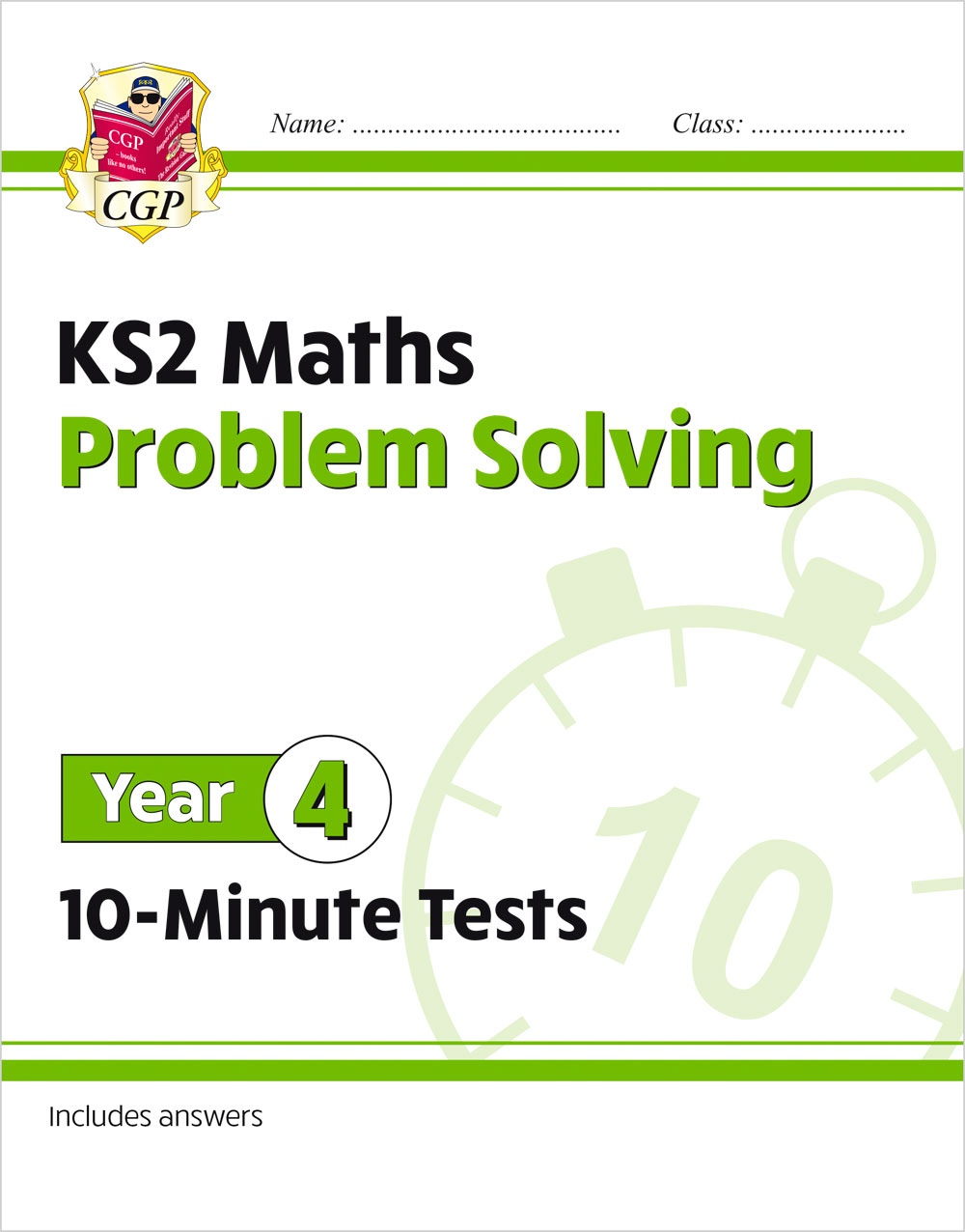 M4PSXP21 - New KS2 Maths 10-Minute Tests: Problem Solving - Year 4