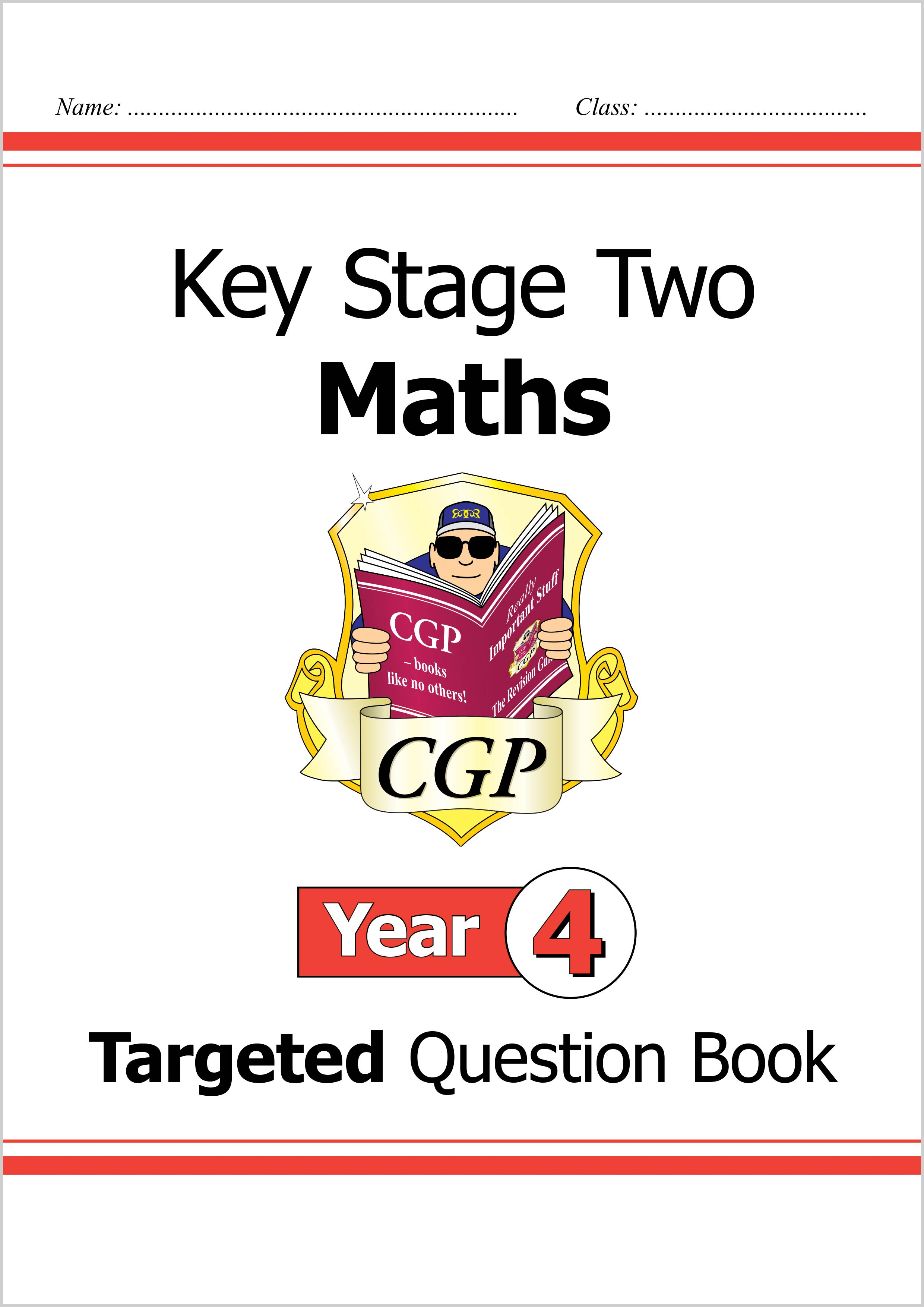 M4Q23DK - KS2 Maths Targeted Question Book - Year 4