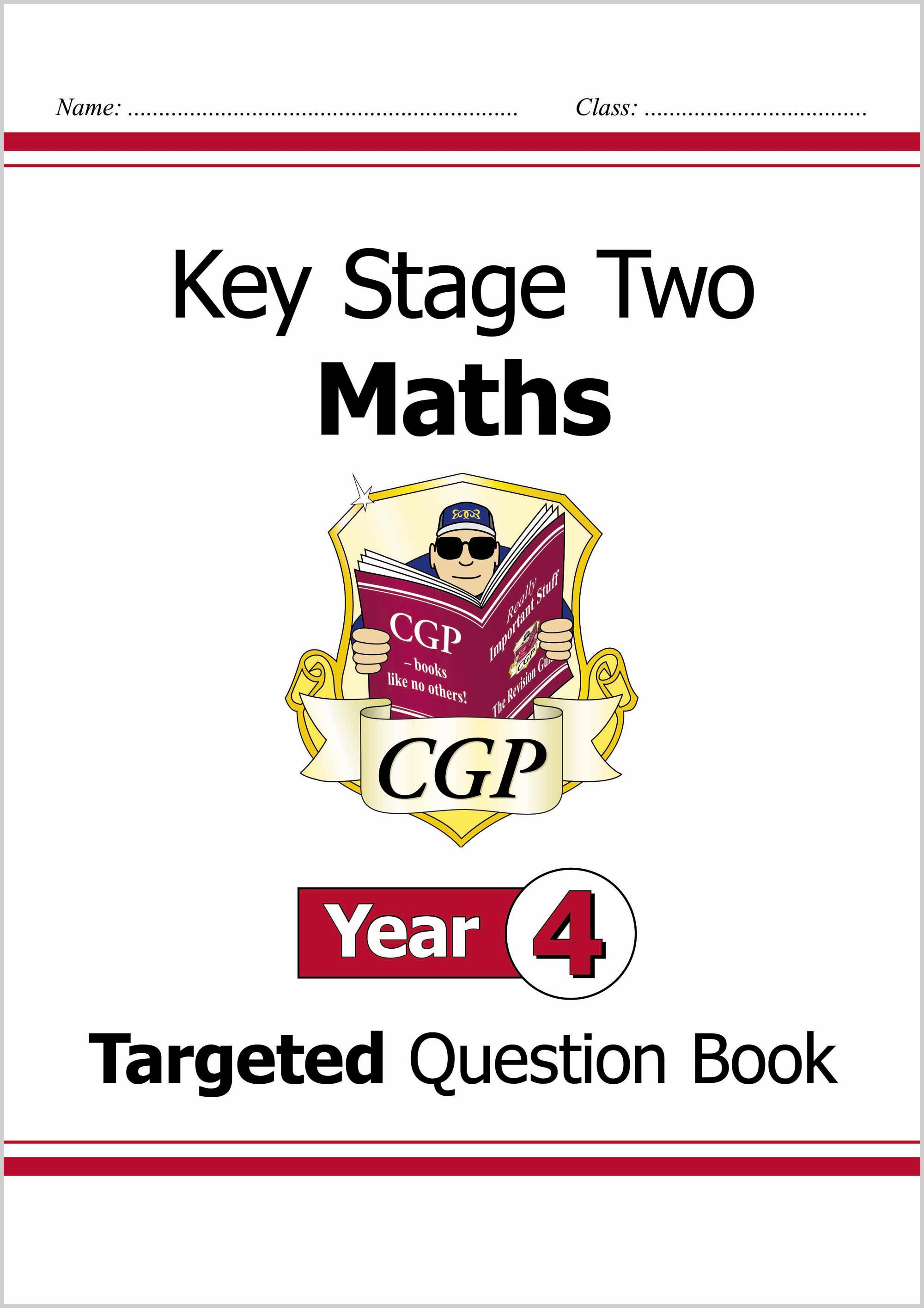 M4Q24D - KS2 Maths Targeted Question Book - Year 4 Onljne Edition