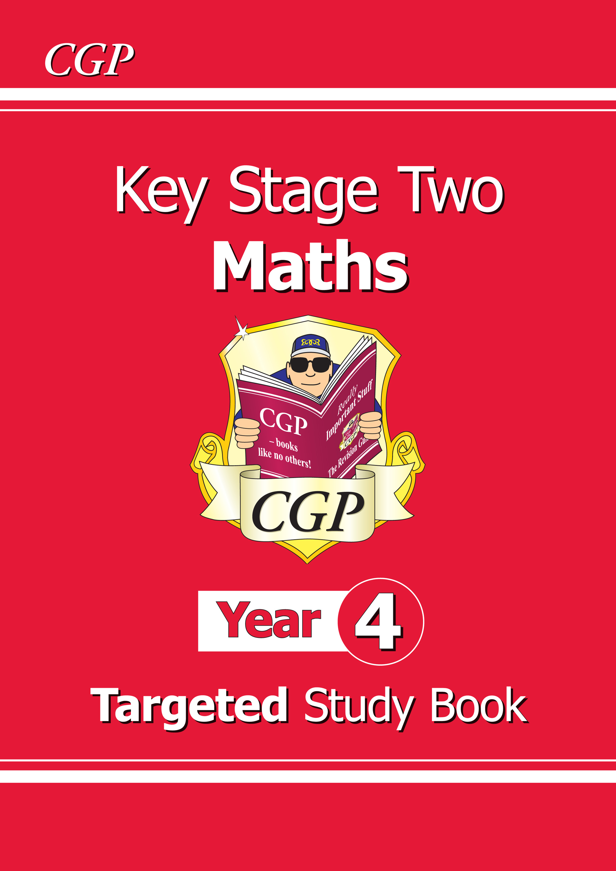 M4R23 - KS2 Maths Targeted Study Book - Year 4