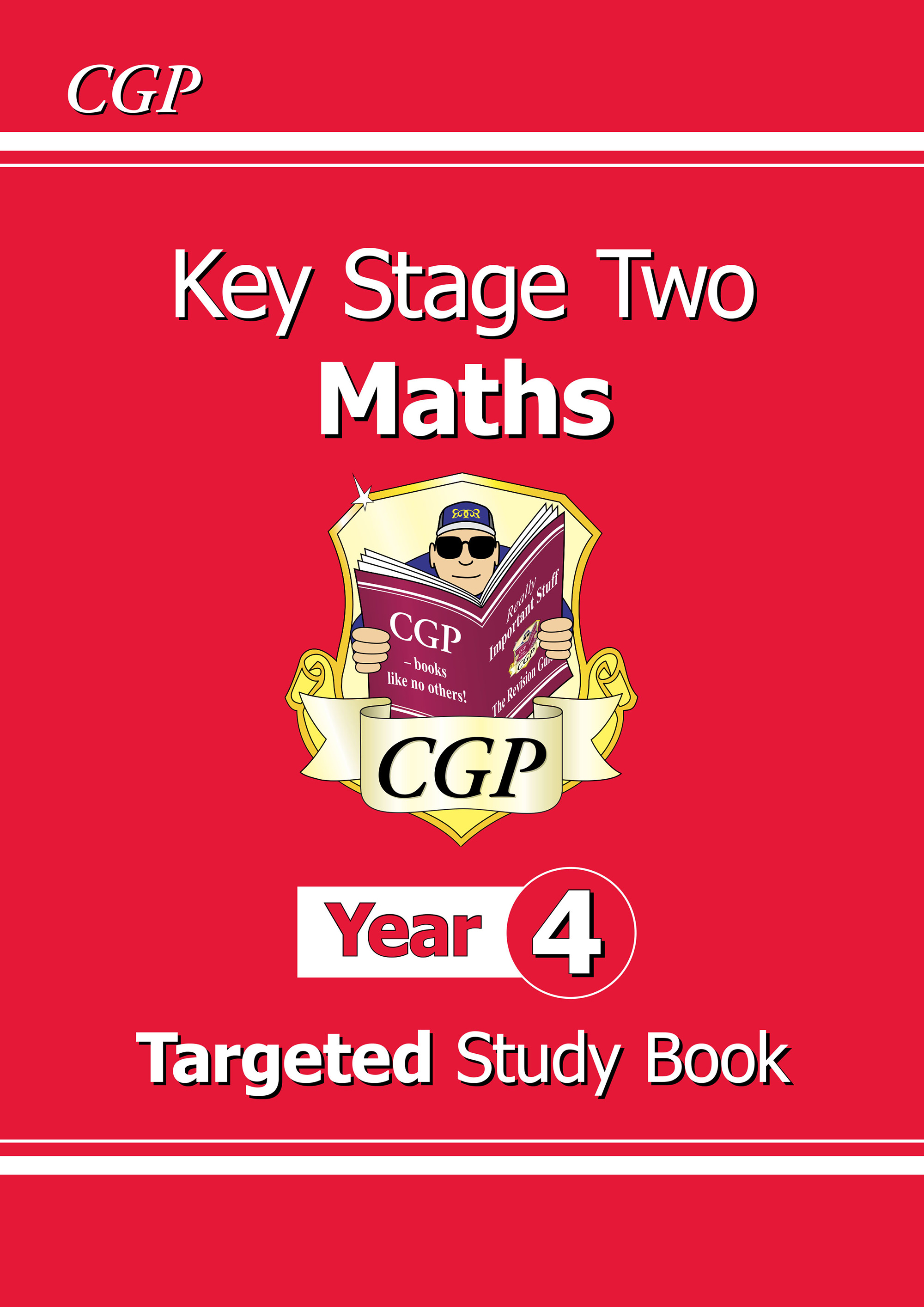 M4R23D - KS2 Maths Targeted Study Book - Year 4 Online Edition