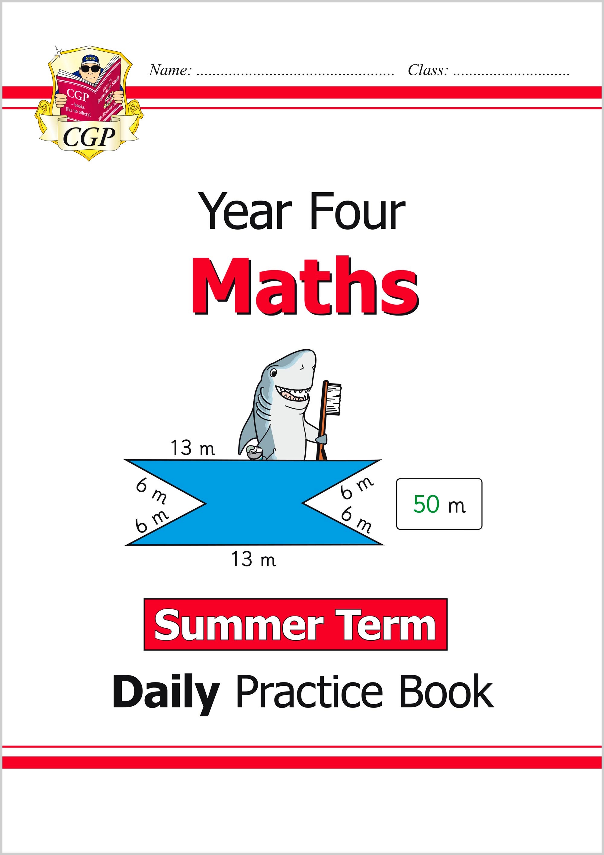 M4WSU21 - New KS2 Maths Daily Practice Book: Year 4 - Summer Term