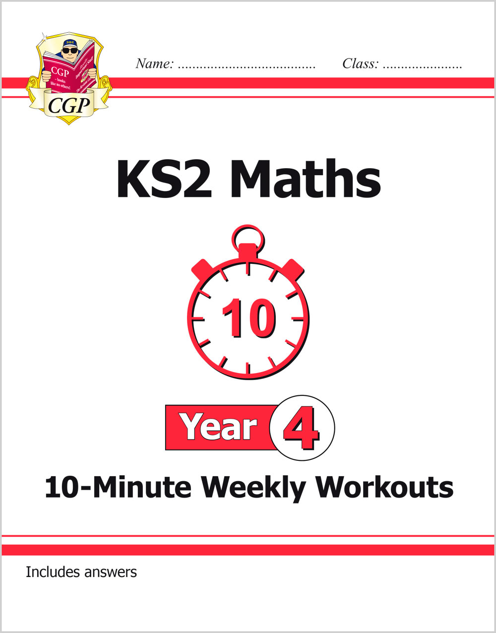 M4XW21 - New KS2 Maths 10-Minute Weekly Workouts - Year 4
