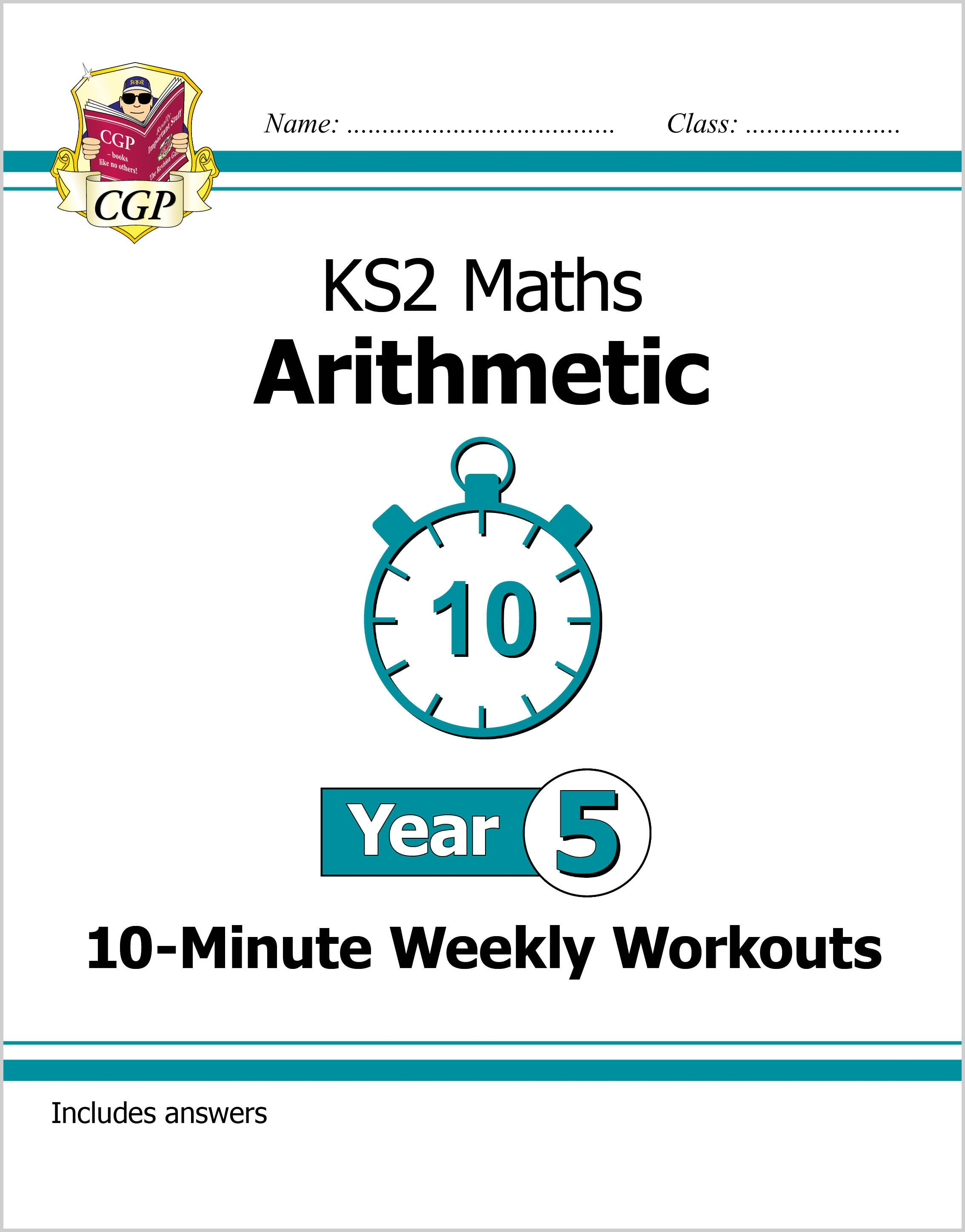 M5ARXW21 - New KS2 Maths 10-Minute Weekly Workouts: Arithmetic - Year 5