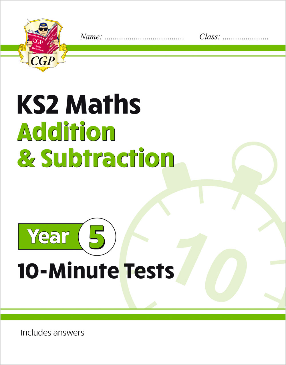 M5ASXP21 - New KS2 Maths 10-Minute Tests: Addition & Subtraction - Year 5