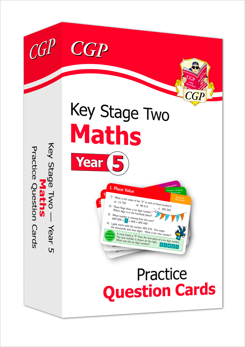 M5F21 - New KS2 Maths Practice Question Cards - Year 5