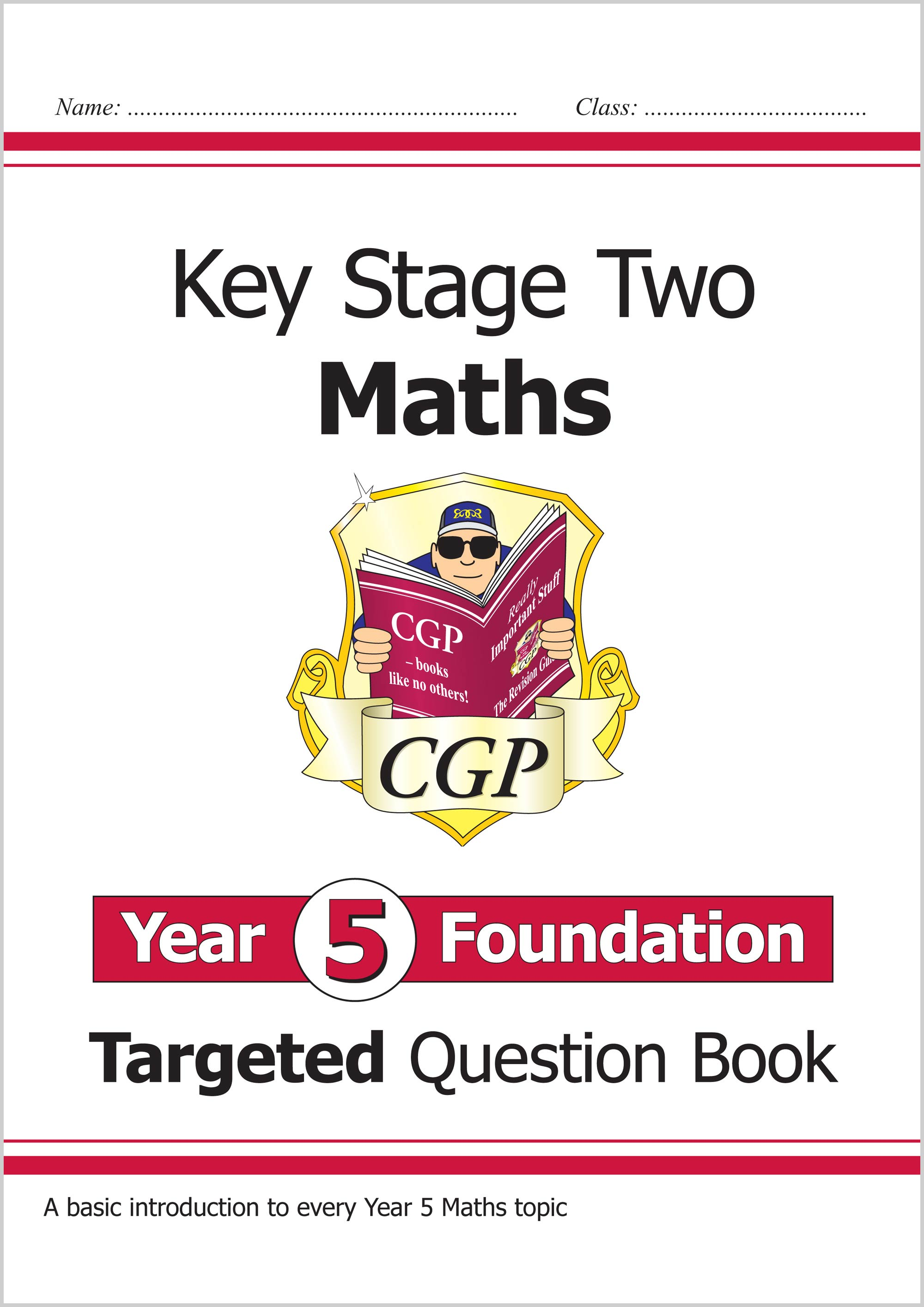 M5FQ21 - New KS2 Maths Targeted Question Book: Year 5 Foundation