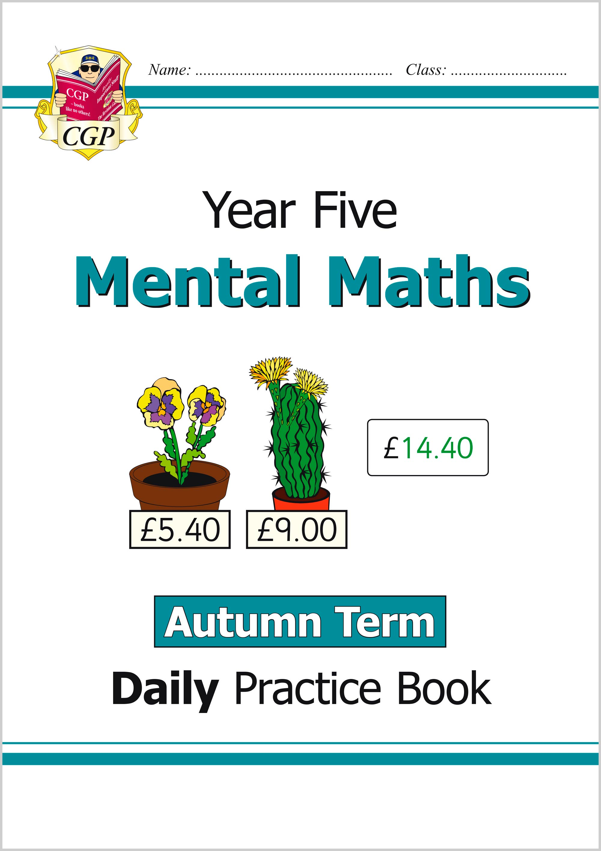 M5MWAU21 - New Mental Maths Daily Practice Book: Year 5 - Autumn Term