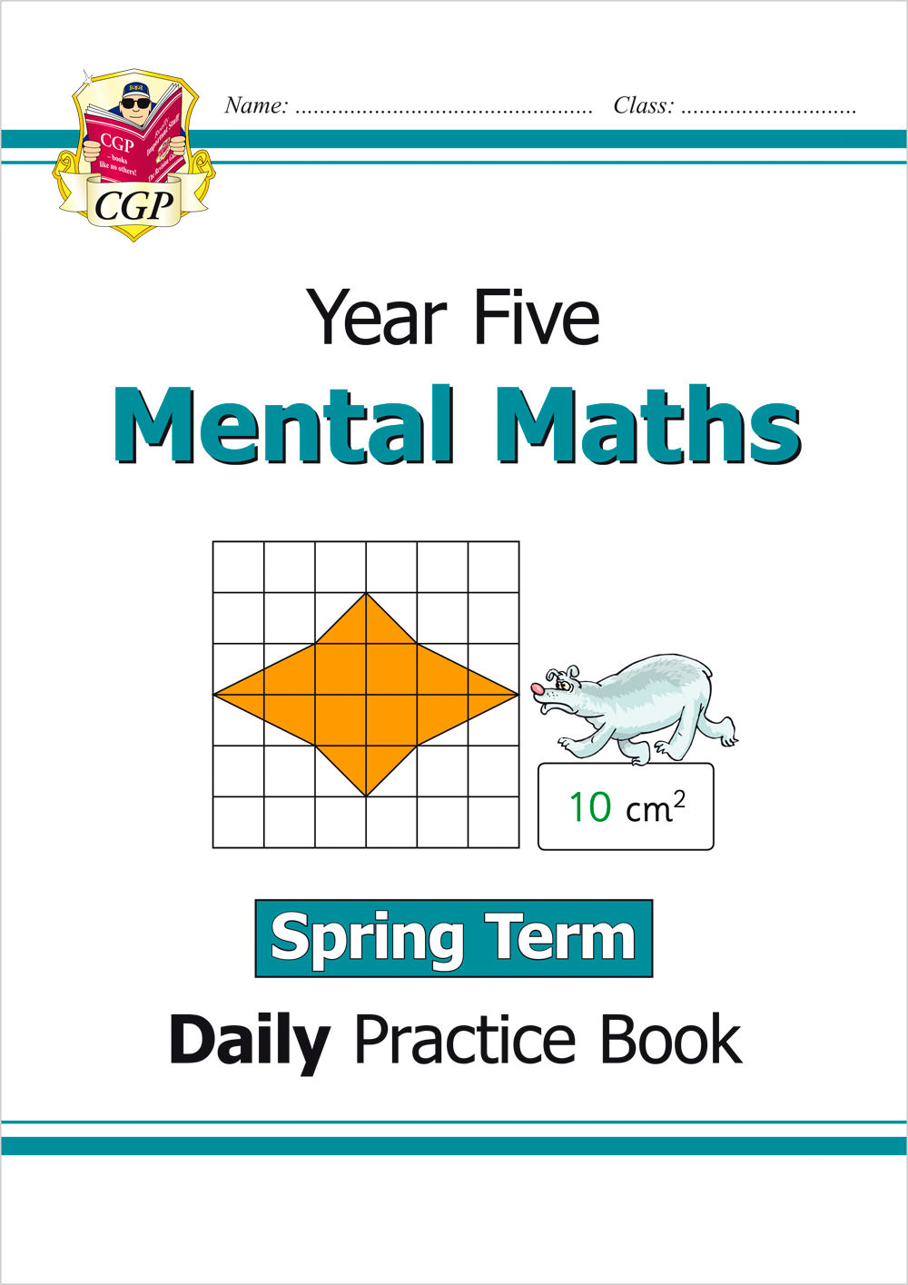 M5MWSP21 - New Mental Maths Daily Practice Book: Year 5 - Spring Term