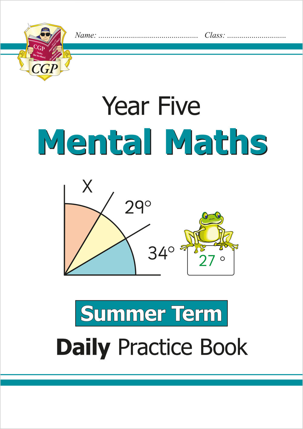 M5MWSU21 - New Mental Maths Daily Practice Book: Year 5 - Summer Term