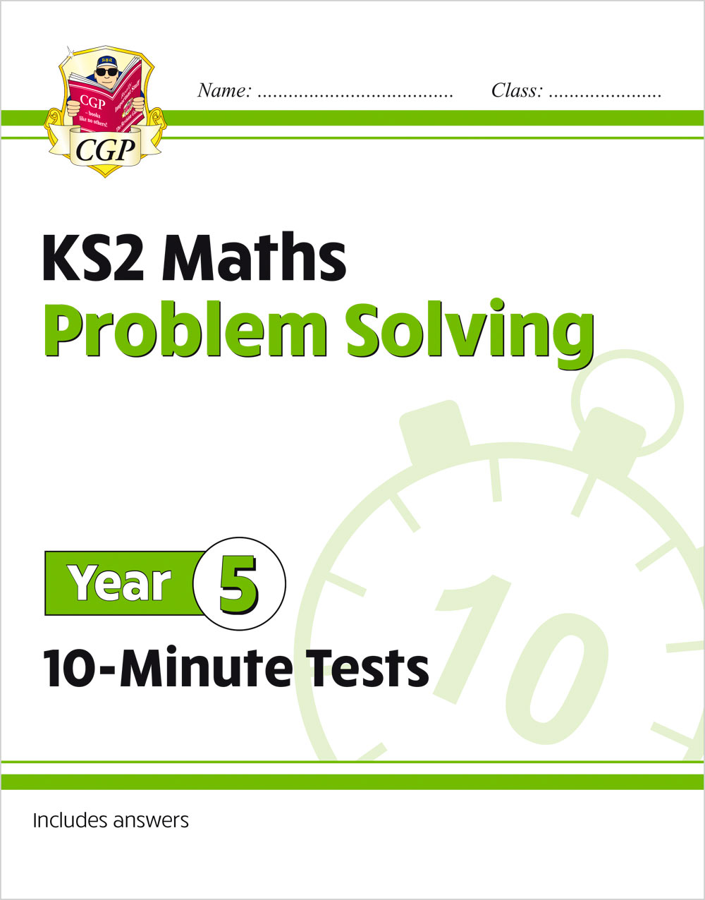 M5PSXP21 - New KS2 Maths 10-Minute Tests: Problem Solving - Year 5