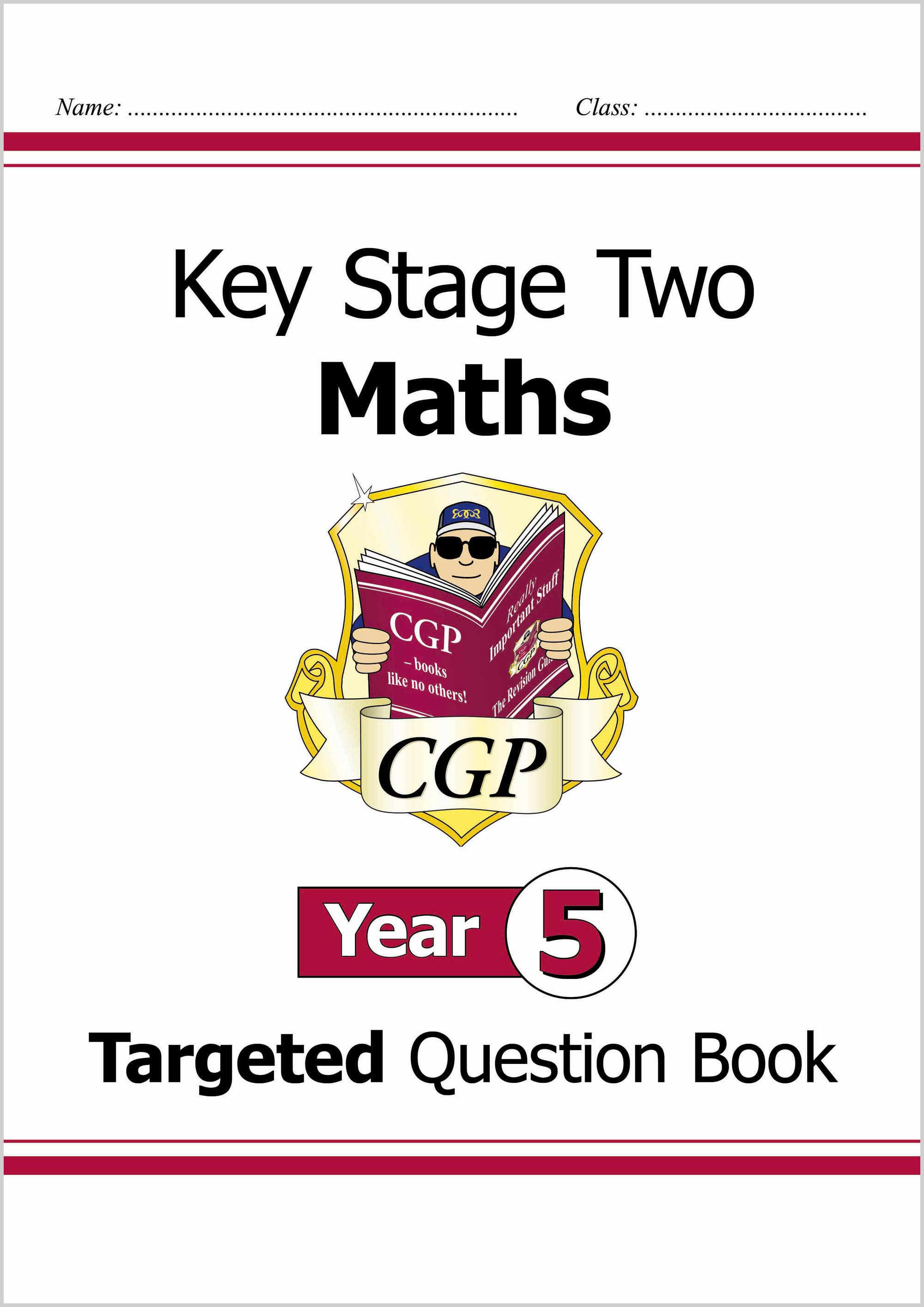 M5Q24D - KS2 Maths Targeted Question Book - Year 5 Online Edition