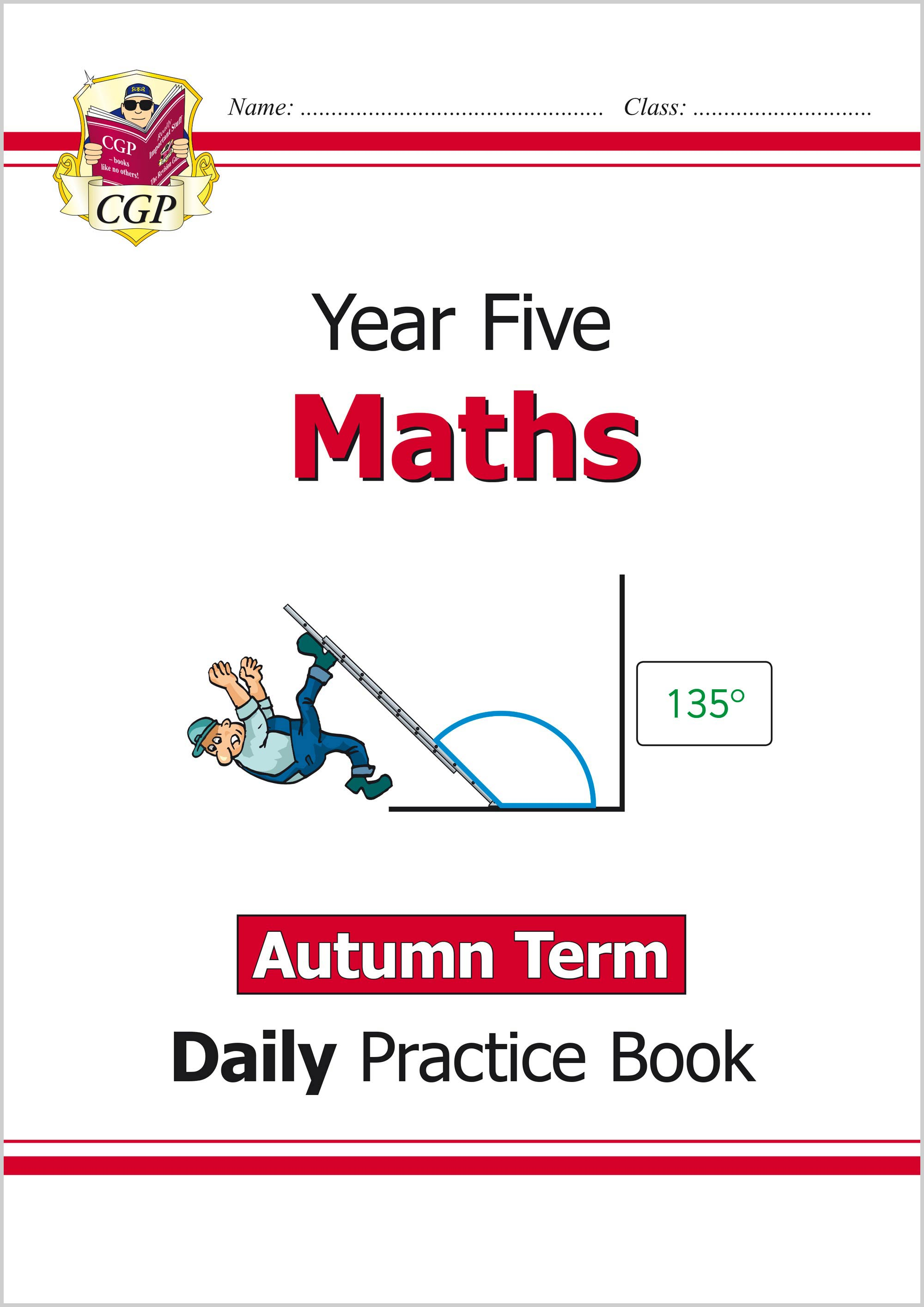 M5WAU21 - New KS2 Maths Daily Practice Book: Year 5 - Autumn Term