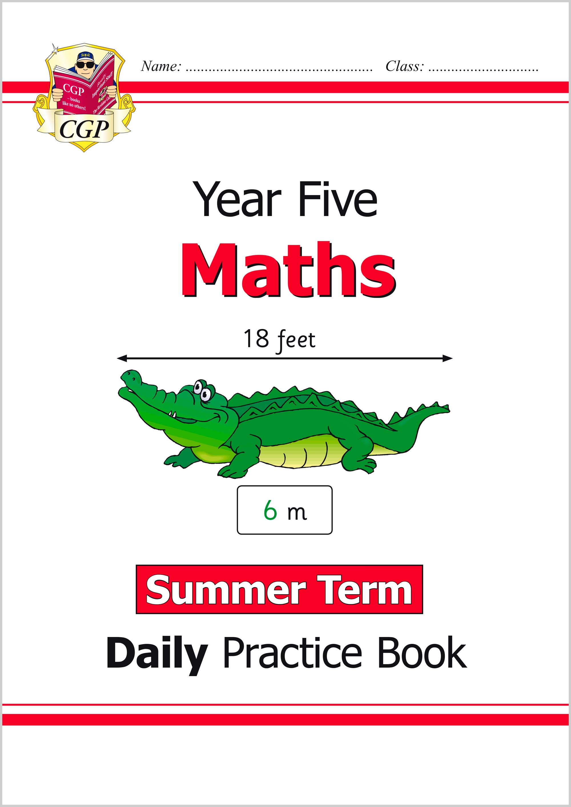 M5WSU21 - New KS2 Maths Daily Practice Book: Year 5 - Summer Term