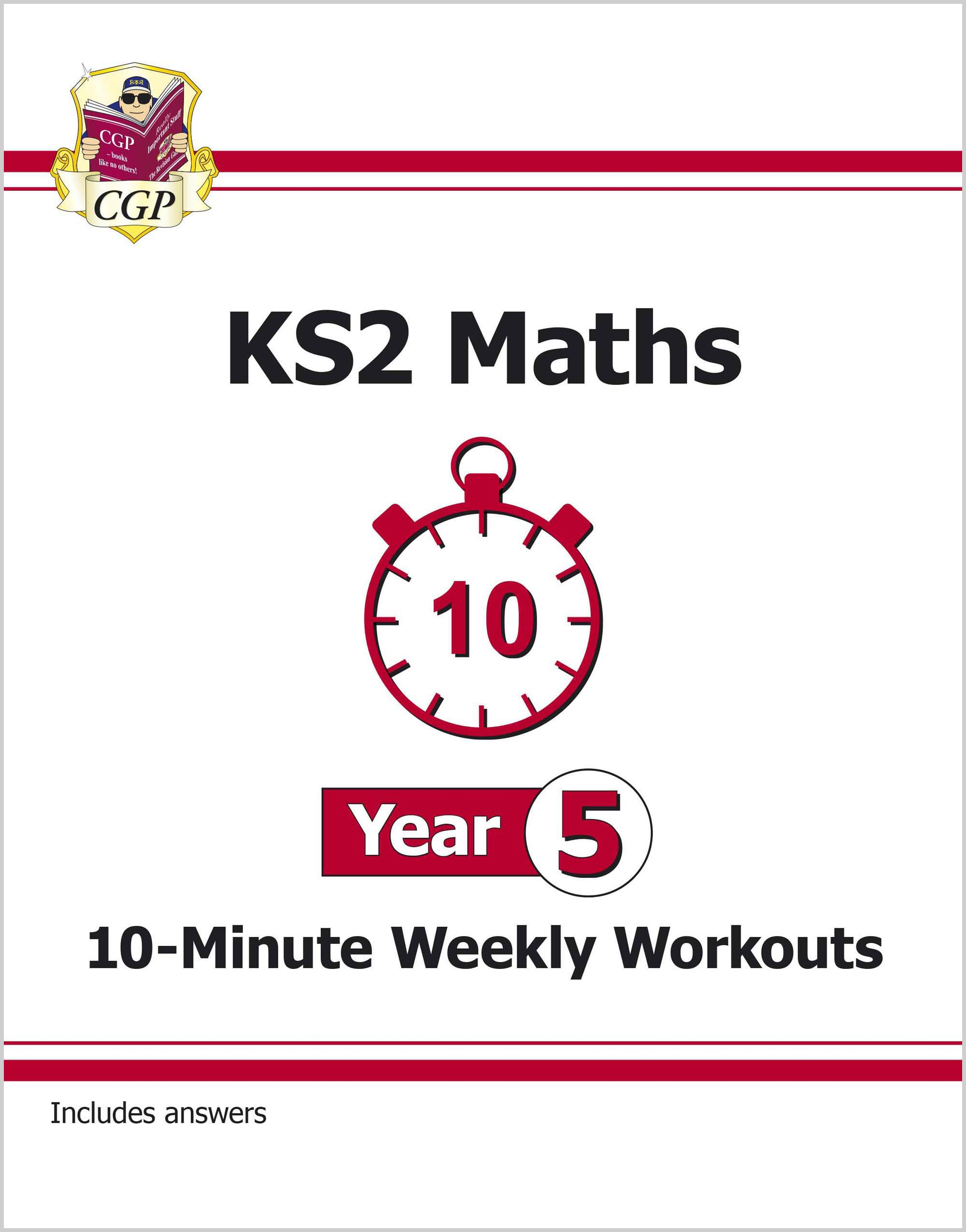 M5XW21DK - New KS2 Maths 10-Minute Weekly Workouts - Year 5