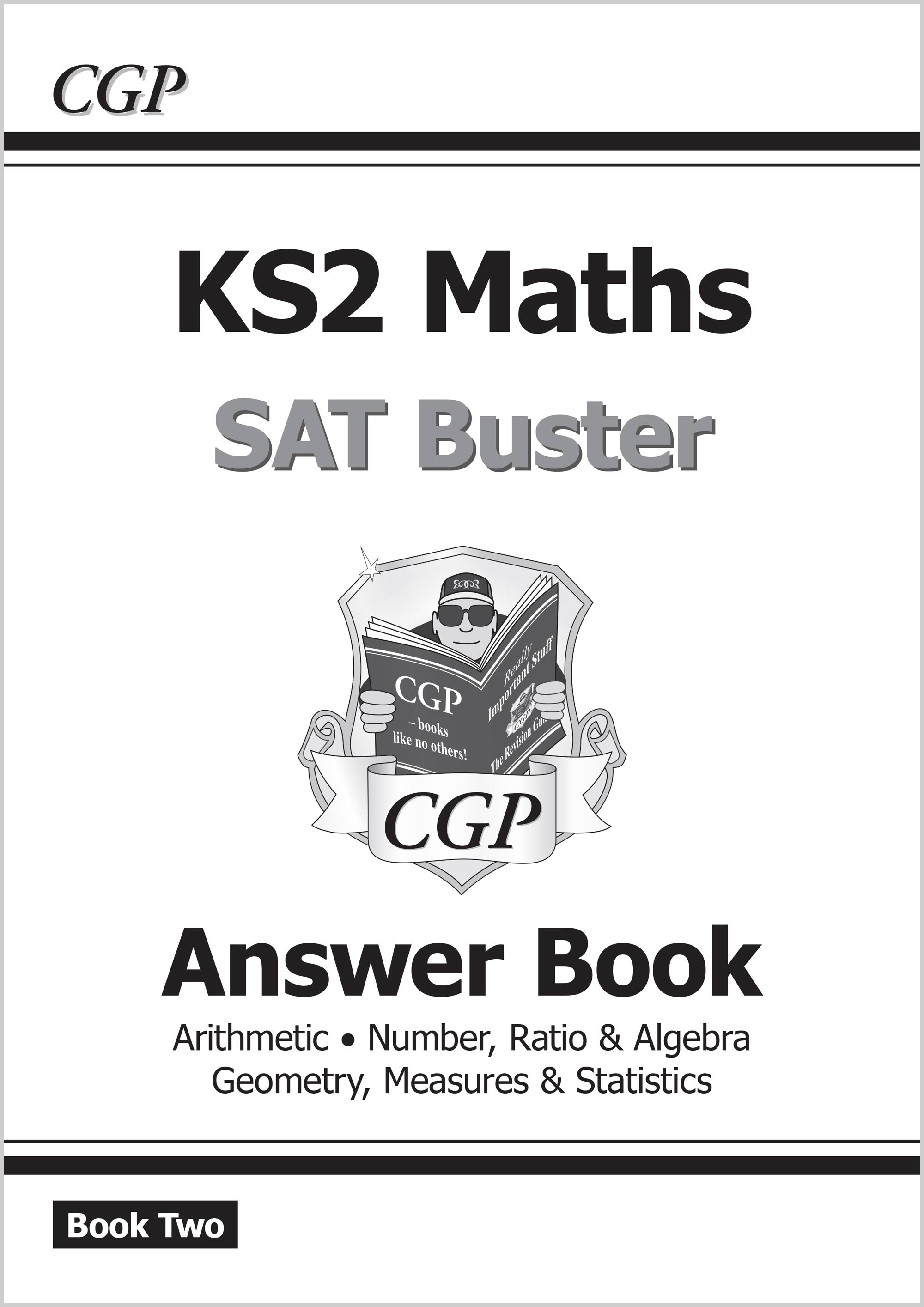 M6A221 - New KS2 Maths SAT Buster: Answer Book 2 (for the 2019 tests)