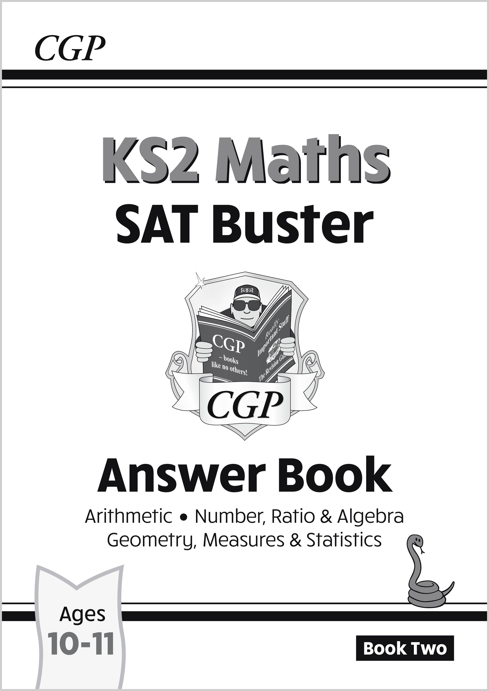 M6A222 - New KS2 Maths SAT Buster: Answer Book 2 (for the 2021 tests)