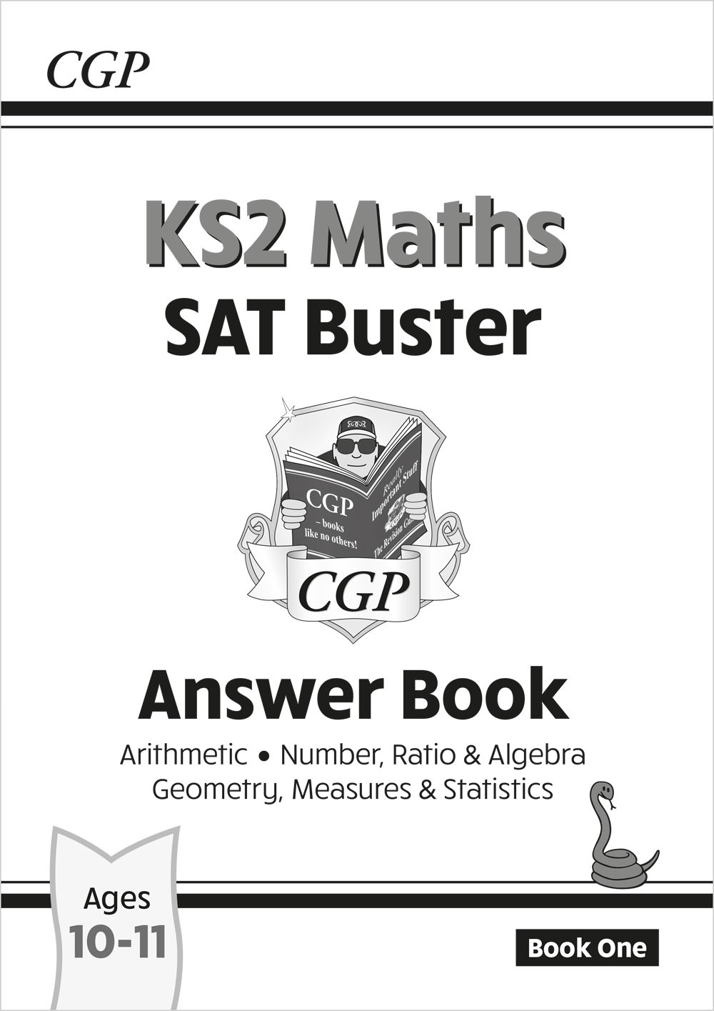 M6A24 - New KS2 Maths SAT Buster: Answer Book 1 (for the 2021 tests)
