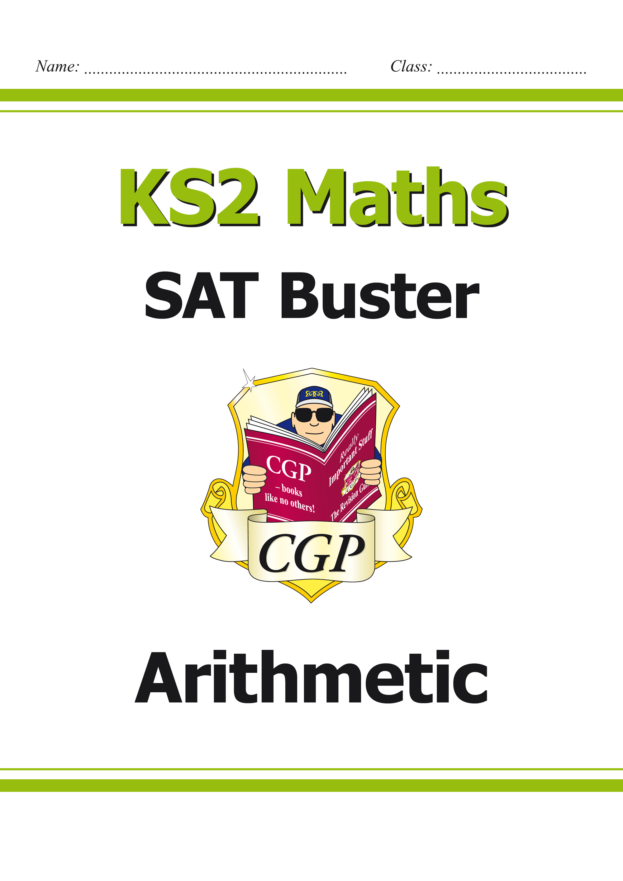 M6ARI23 - KS2 Maths SAT Buster: Arithmetic Book 1 (for the 2019 tests)