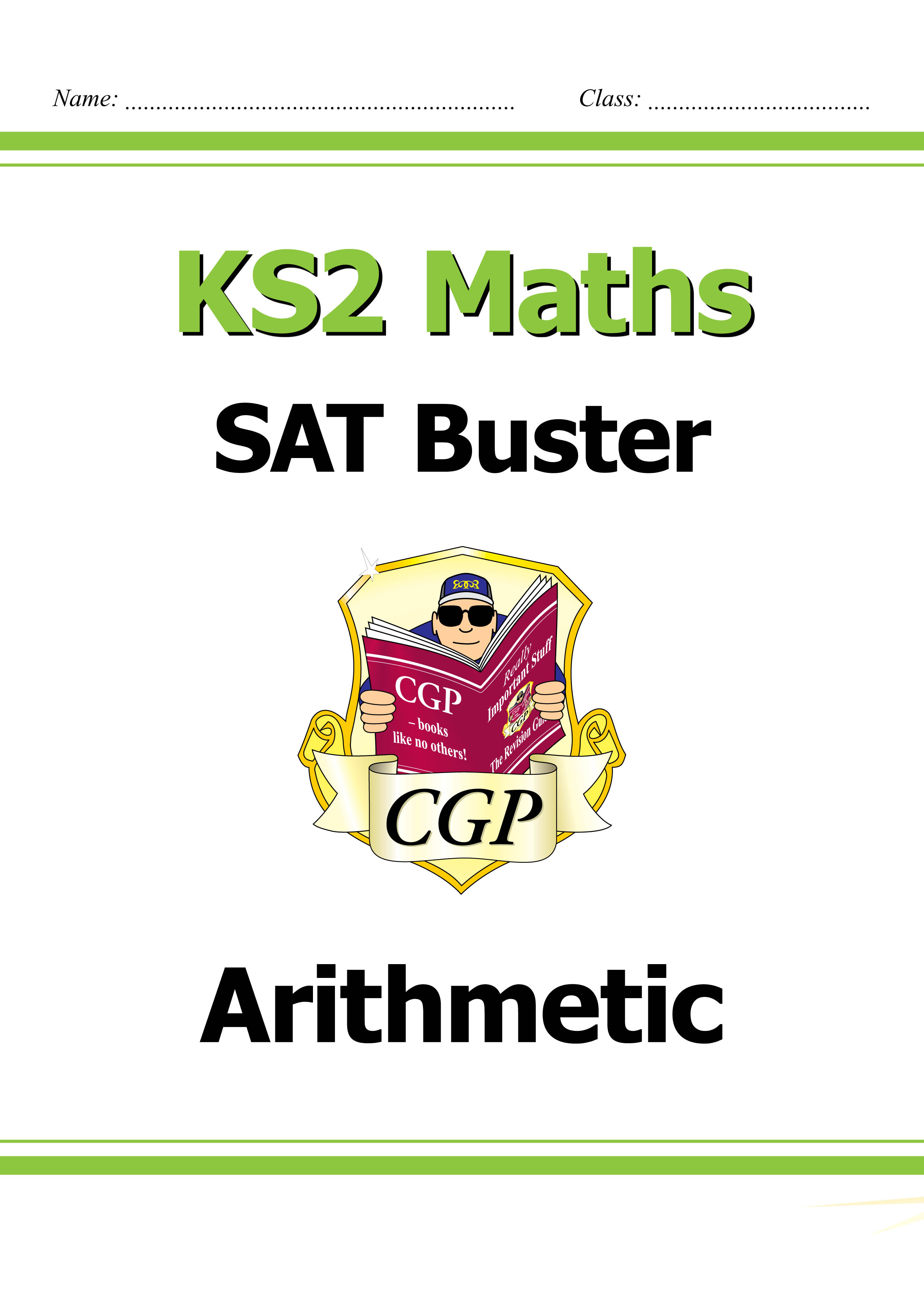 M6ARI23DK - KS2 Maths SAT Buster: Arithmetic (for tests in 2018 and beyond)