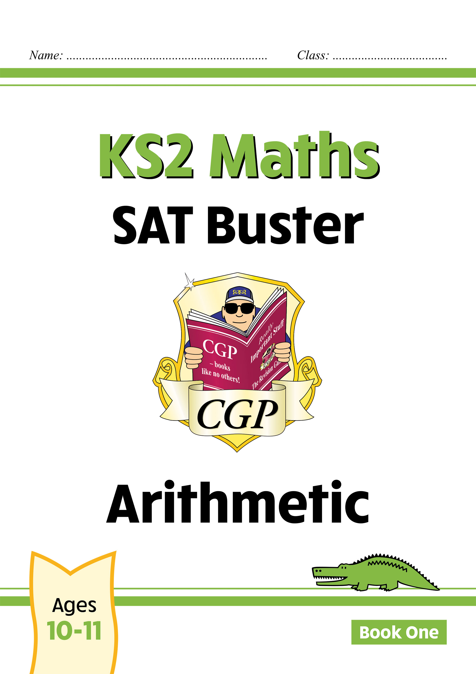 M6ARI24DK - New KS2 Maths SAT Buster: Arithmetic - Book 1 (for the 2021 tests)