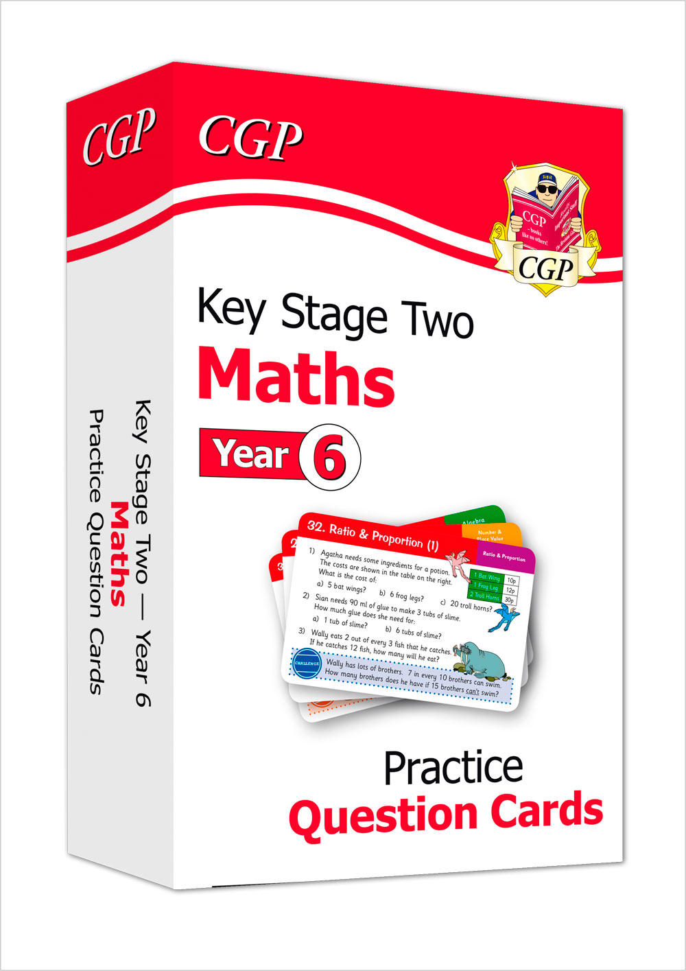 M6F21 - New KS2 Maths Practice Question Cards - Year 6