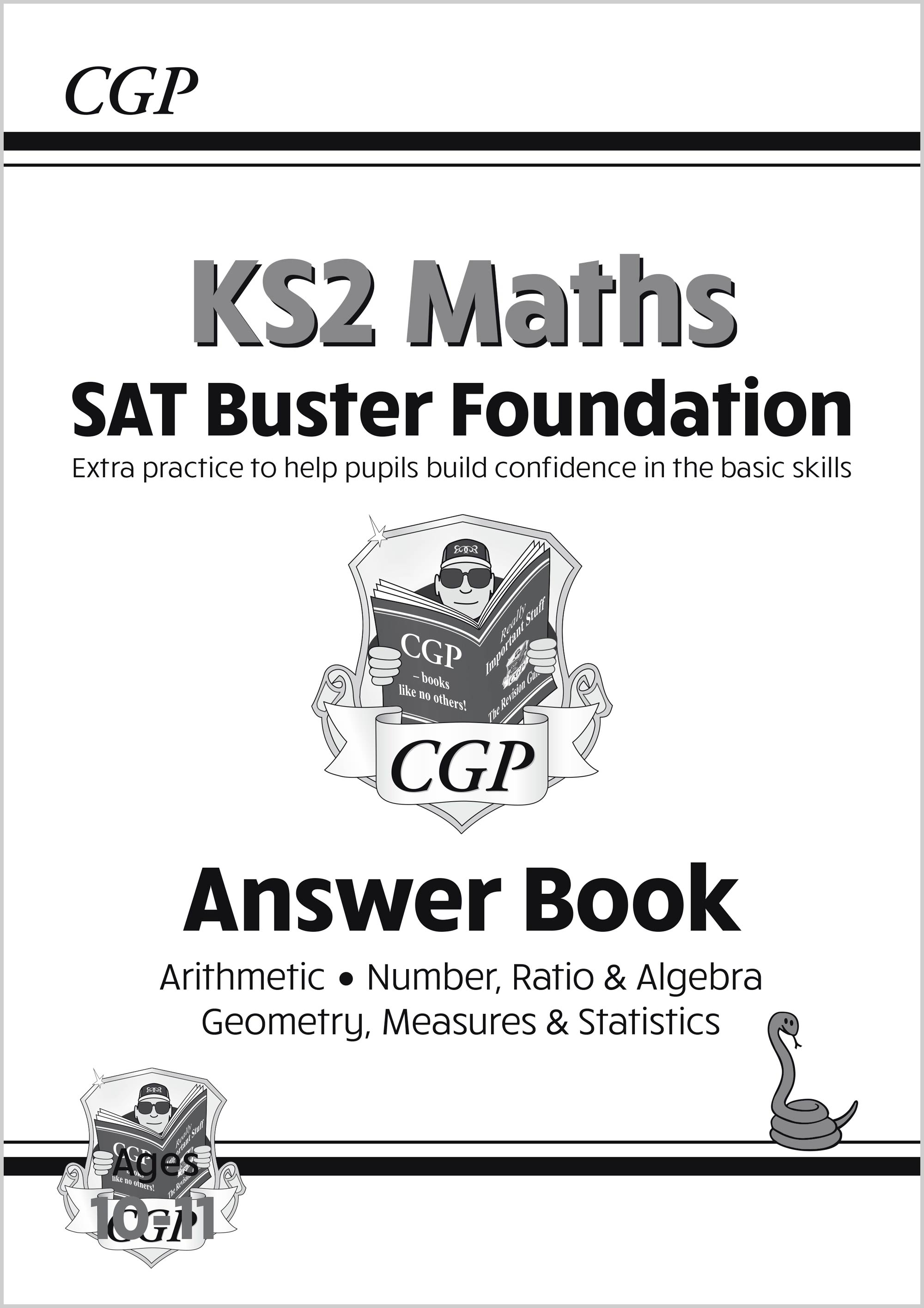 M6FA21 - New KS2 Maths SAT Buster Foundation: Answer Book (for the 2021 tests)