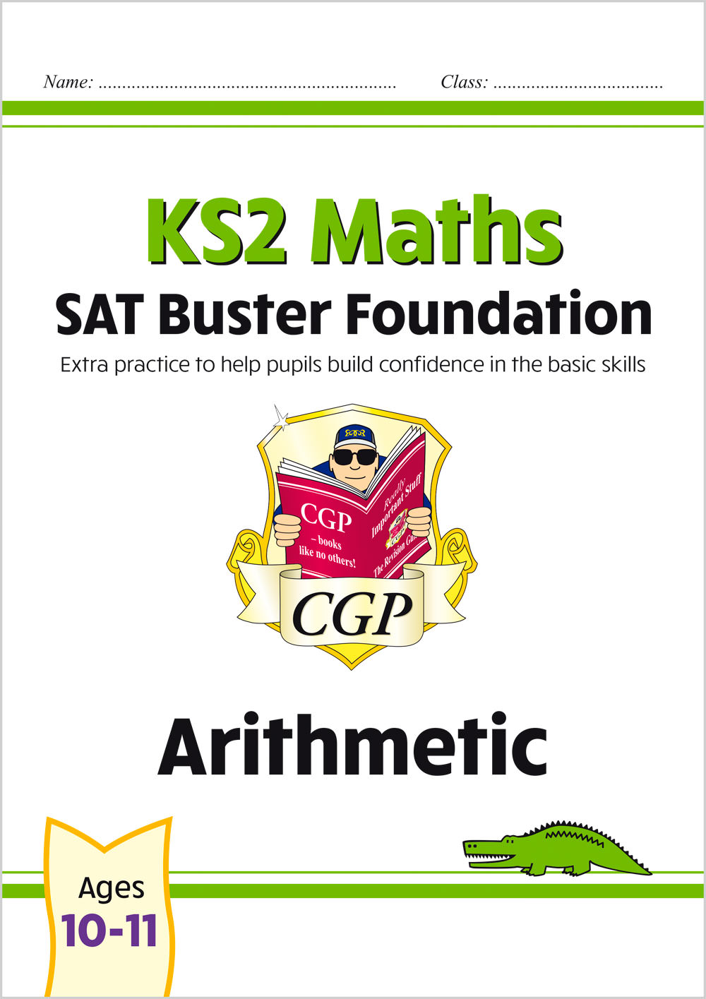 M6FARI21 - New KS2 Maths SAT Buster Foundation: Arithmetic (for the 2020 tests)