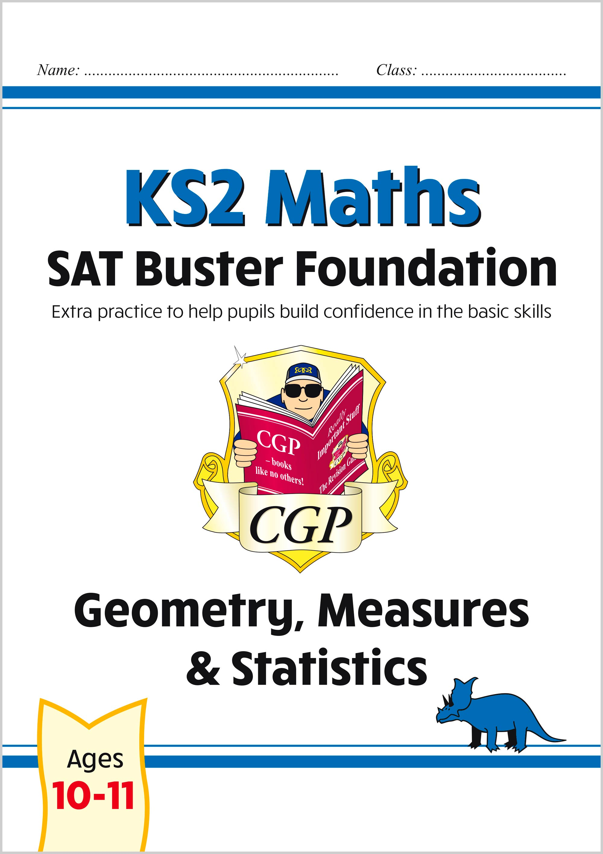 M6FSMD21 - New KS2 Maths SAT Buster Foundation: Geometry, Measures & Statistics