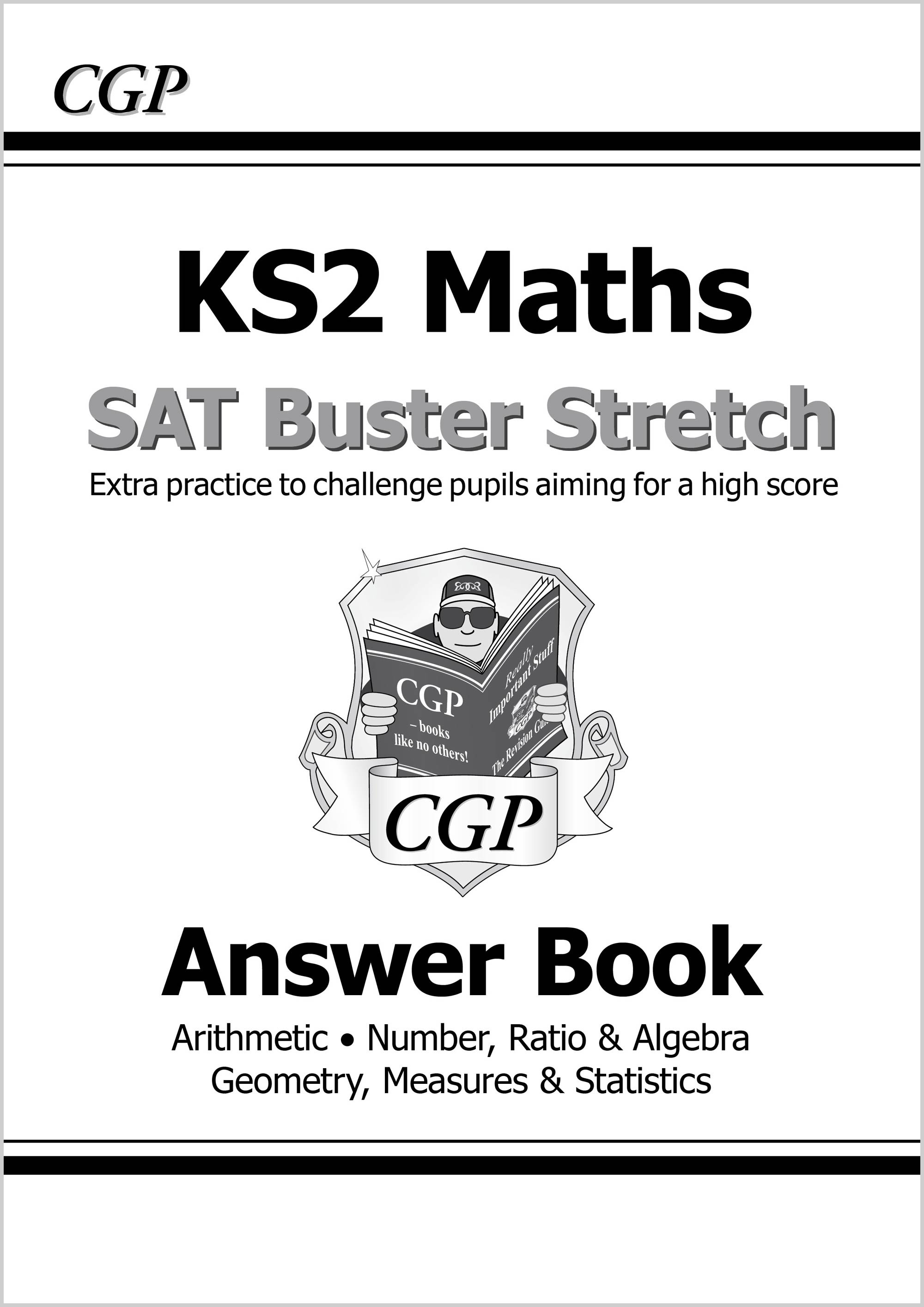 M6HA21 - New KS2 Maths SAT Buster Stretch: Answer Book (for the 2019 tests)