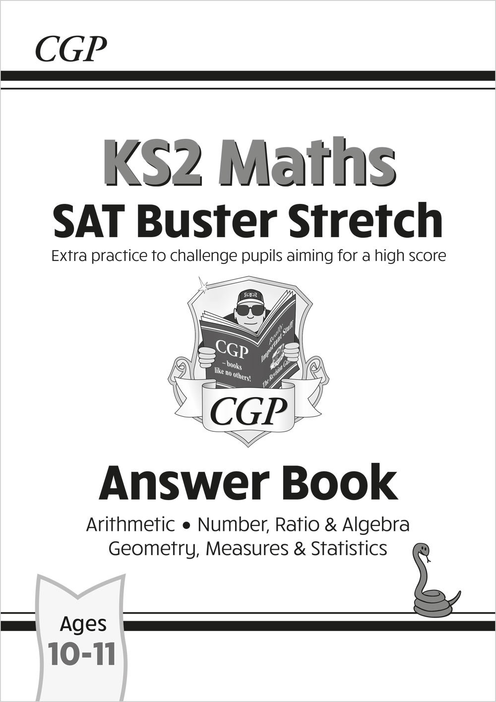 M6HA22 - New KS2 Maths SAT Buster Stretch: Answer Book (for the 2021 tests)