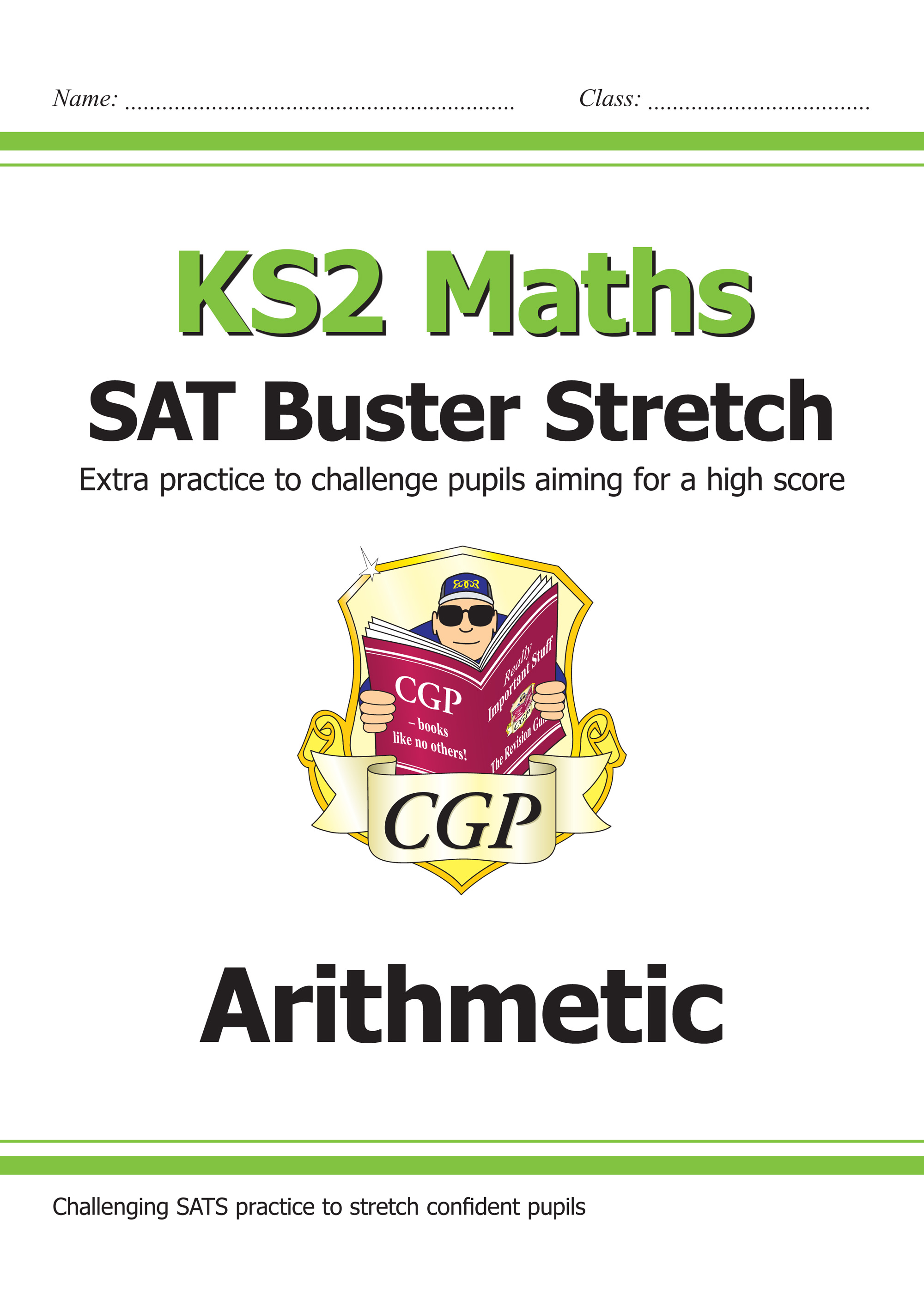 M6HARI21 - New KS2 Maths SAT Buster Stretch: Arithmetic (for the 2019 tests)