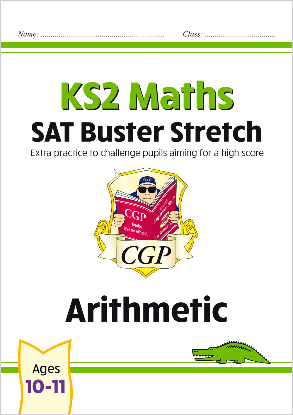 M6HARI22 - New KS2 Maths SAT Buster Stretch: Arithmetic (for the 2021 tests)