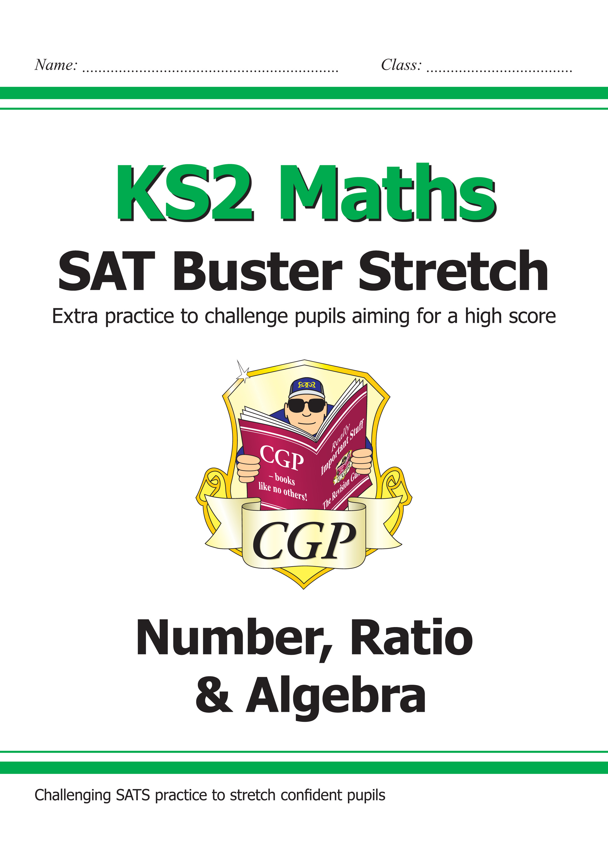 M6HN21 - New KS2 Maths SAT Buster Stretch: Number, Ratio & Algebra (for the 2019 tests)
