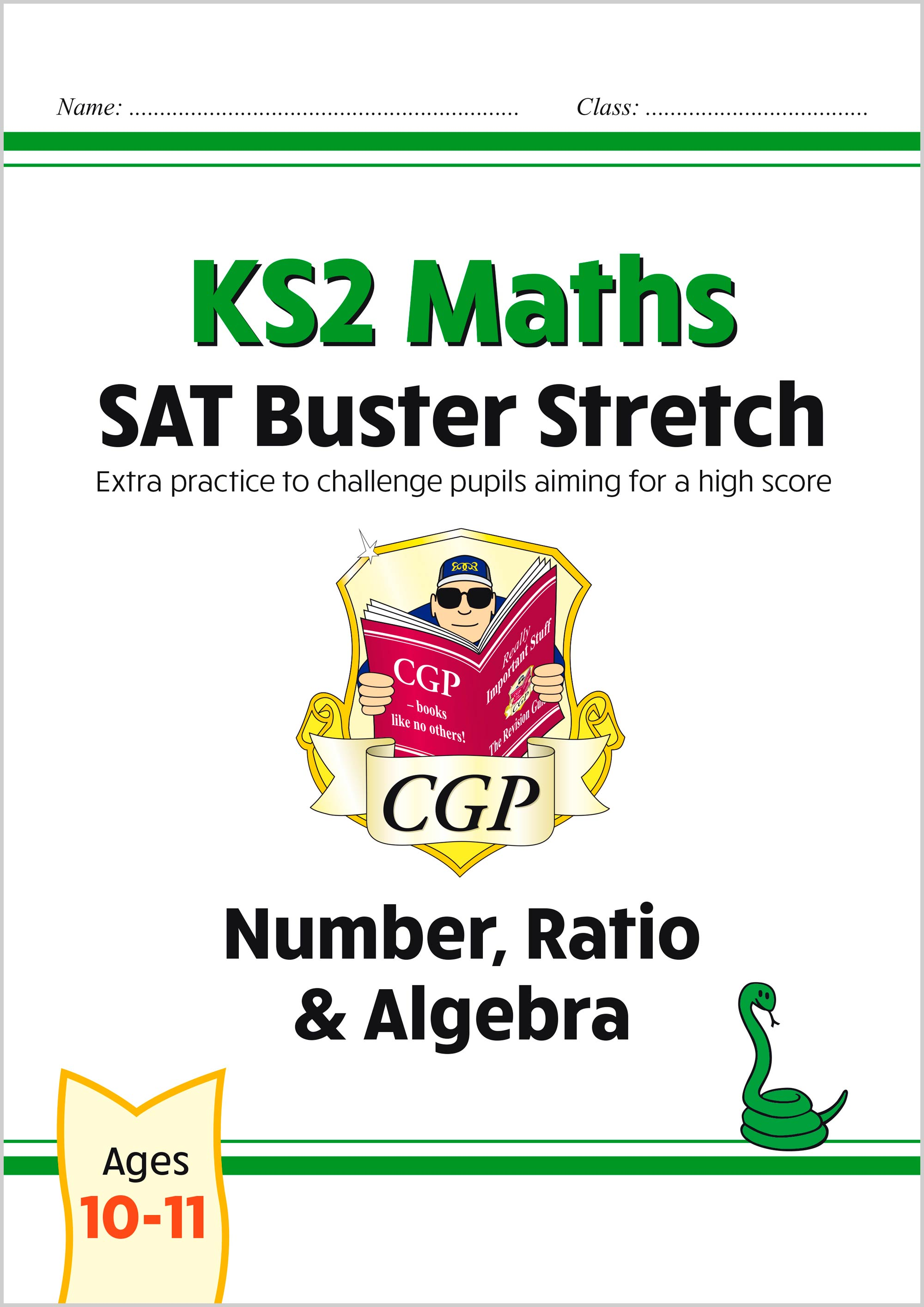 M6HN22 - New KS2 Maths SAT Buster Stretch: Number, Ratio & Algebra (for the 2021 tests)