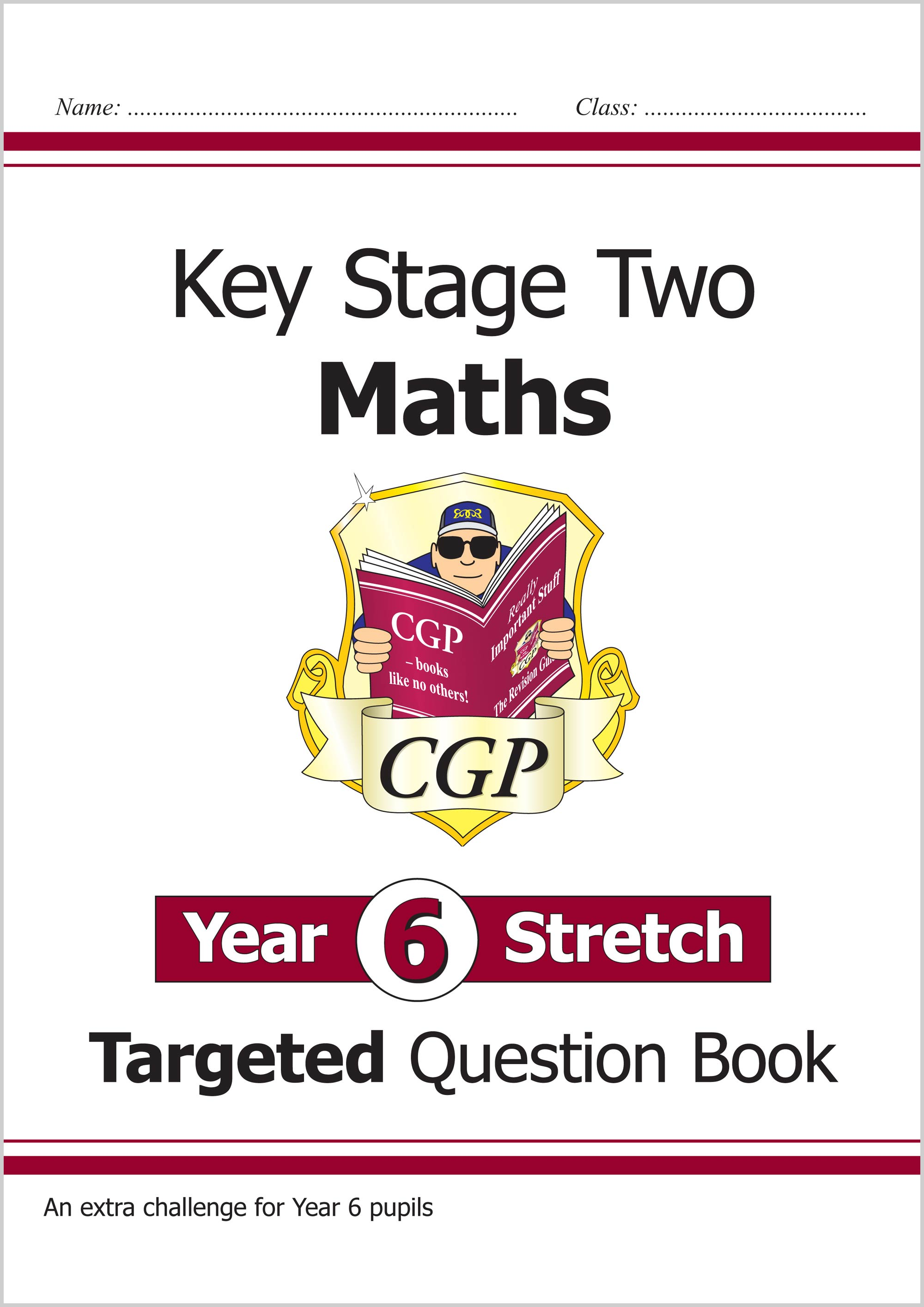 M6HQ22 - KS2 Maths Targeted Question Book: Challenging Maths - Year 6 Stretch