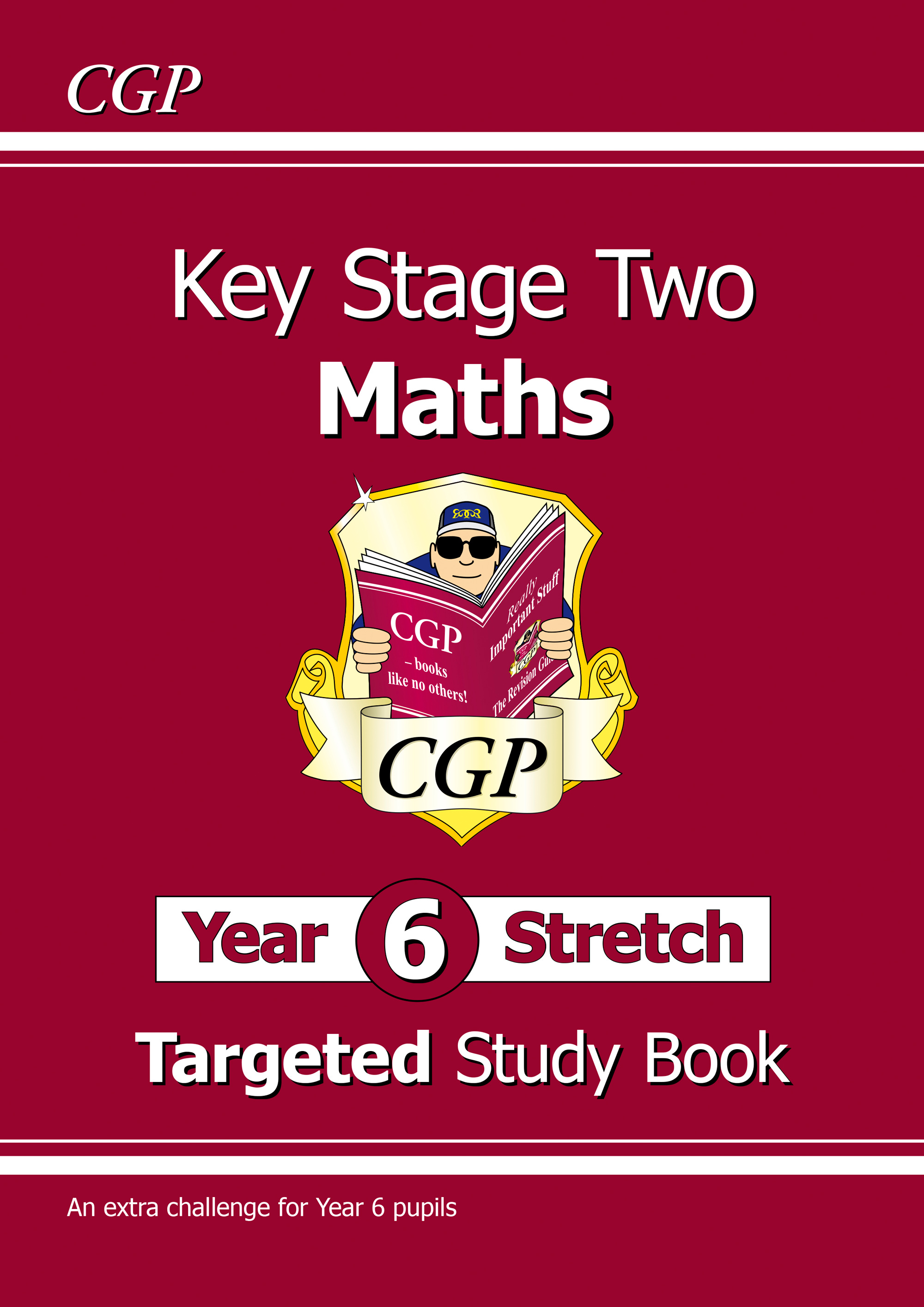 M6HR22DK - KS2 Maths Targeted Study Book: Challenging Maths - Year 6 Stretch