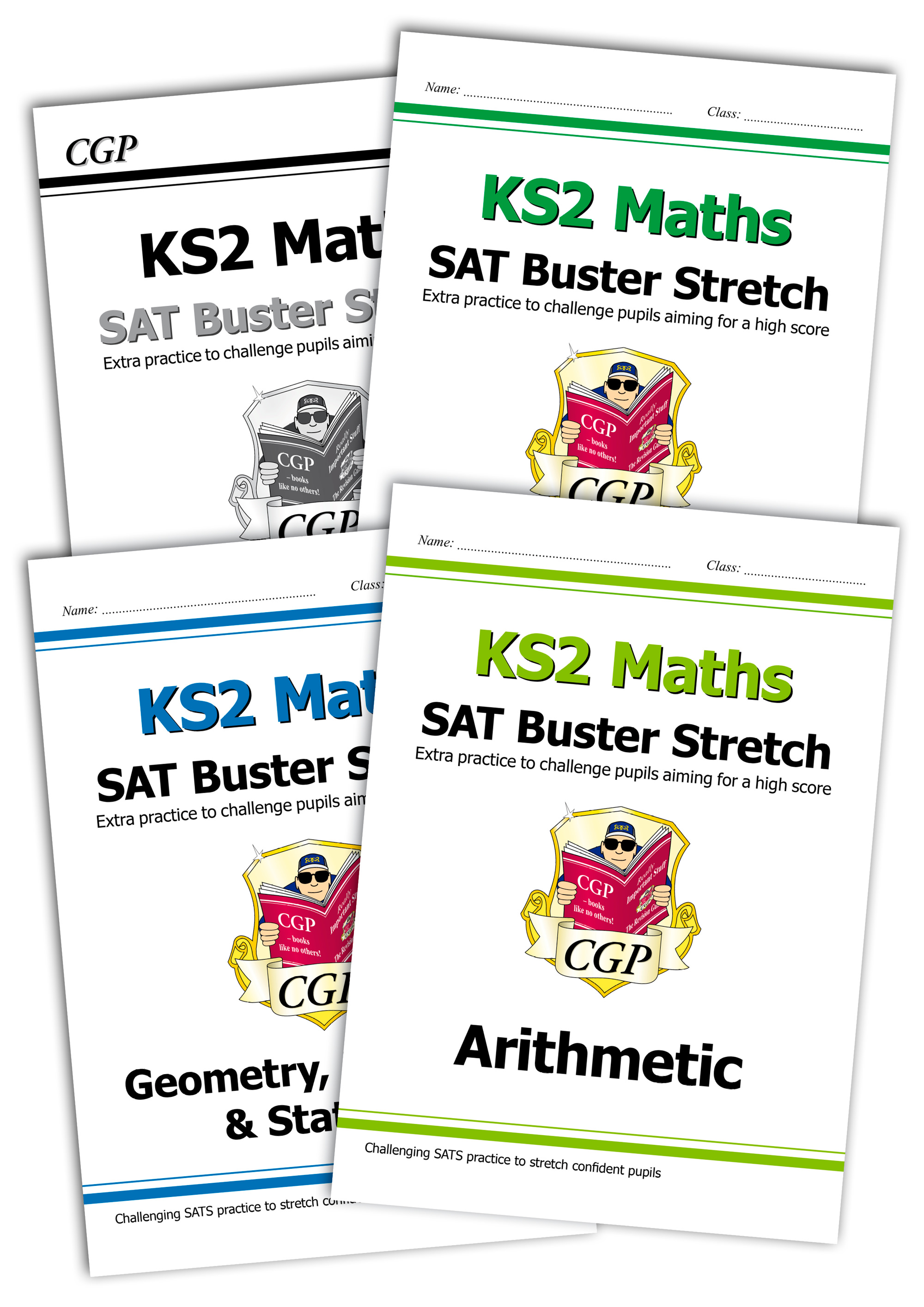 M6HSBB21 - New Complete KS2 Maths SAT Buster Stretch Bundle - incl answers (for the 2019 tests)