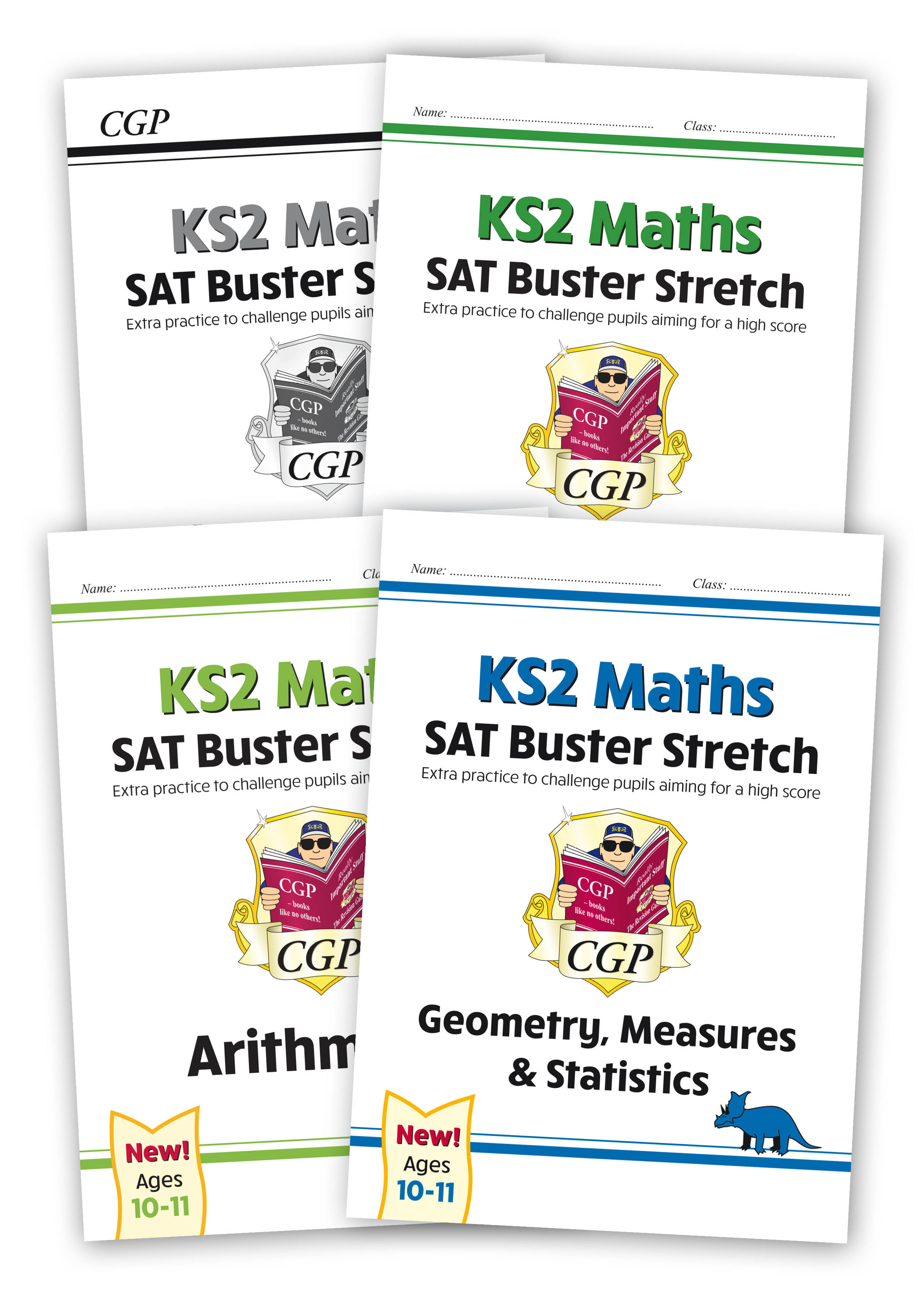 M6HSBB22 - New KS2 Maths SAT Buster Stretch Bundle - includes answers (for the 2020 tests)