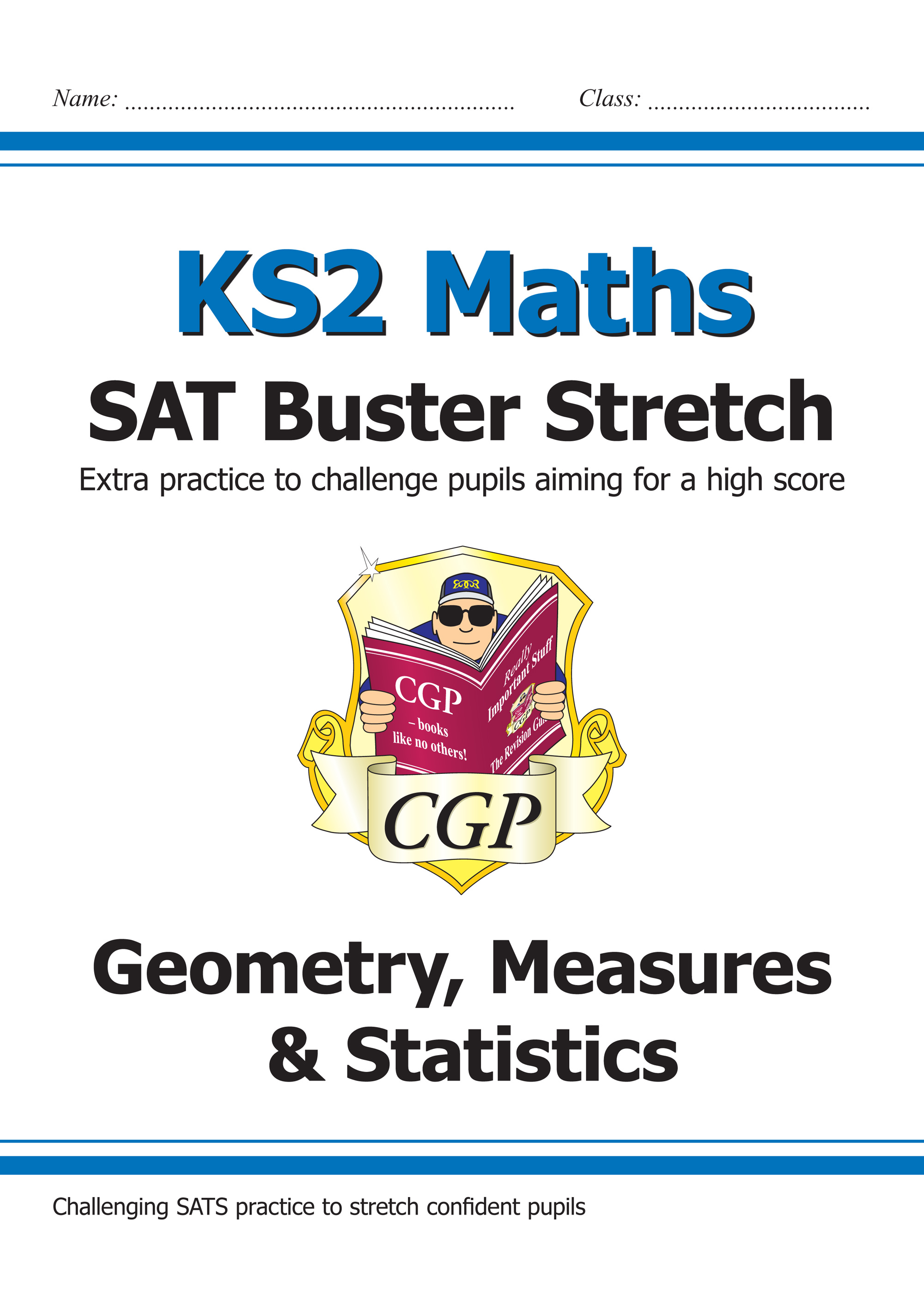 M6HSMD21 - New KS2 Maths SAT Buster Stretch: Geometry, Measures & Statistics (for the 2019 tests)