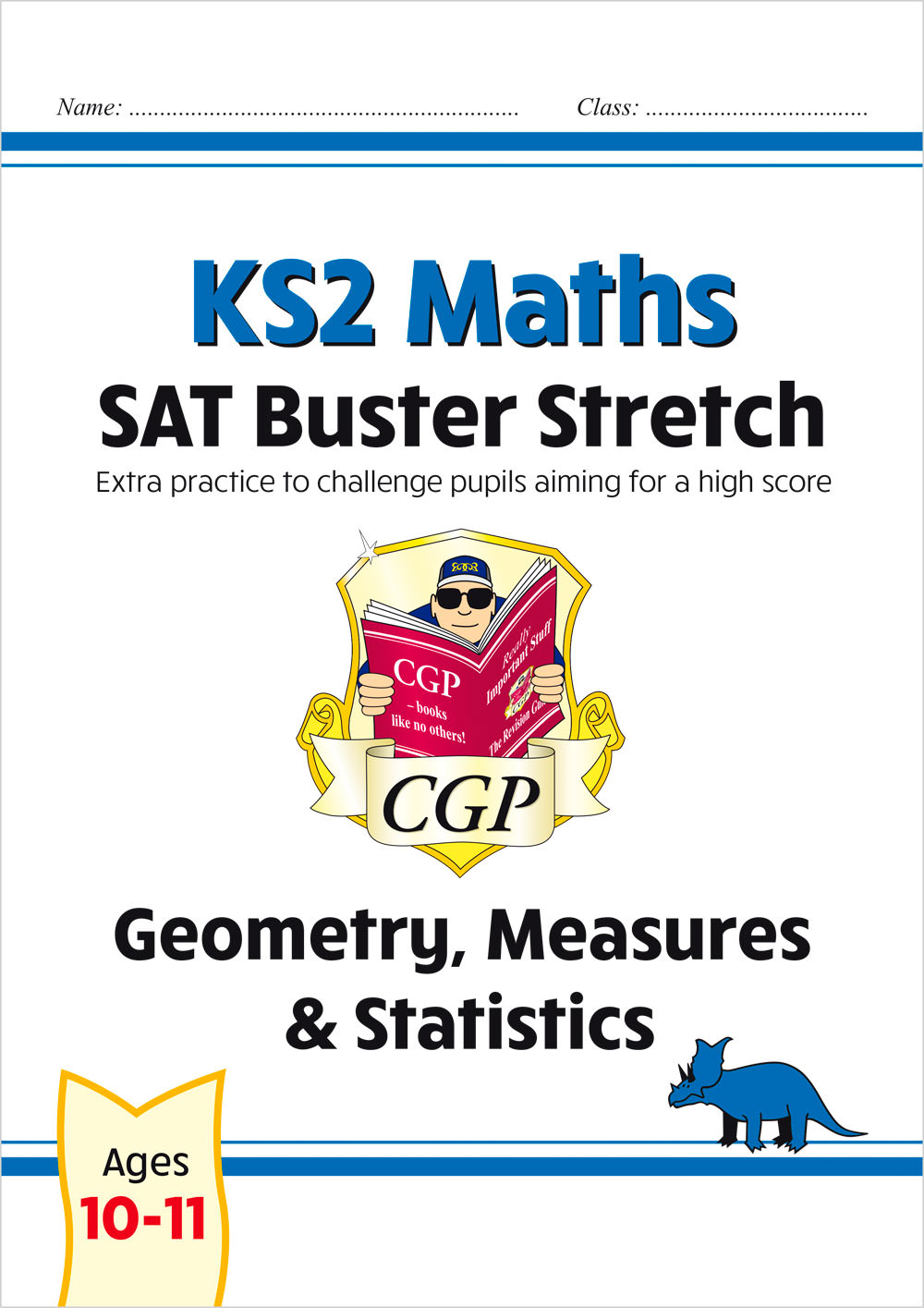 M6HSMD22 - New KS2 Maths SAT Buster Stretch: Geometry, Measures & Statistics (for the 2020 tests)