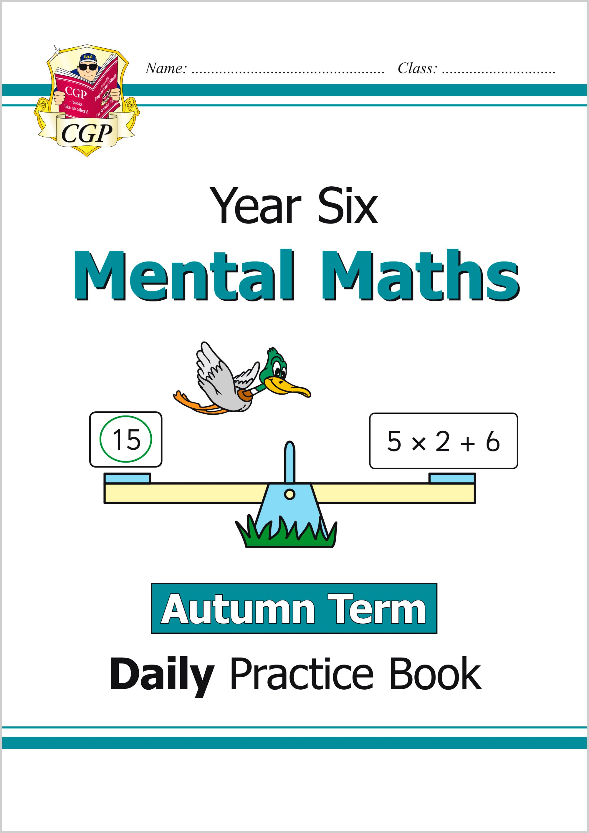 M6MWAU21 - New Mental Maths Daily Practice Book: Year 6 - Autumn Term