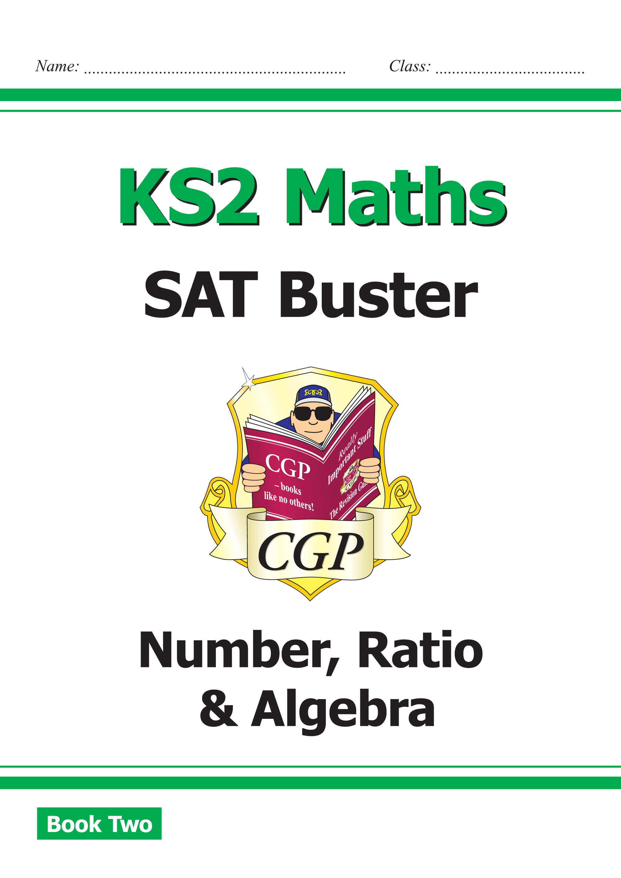 M6N221 - New KS2 Maths SAT Buster: Number, Ratio & Algebra Book 2 (for the 2019 tests)