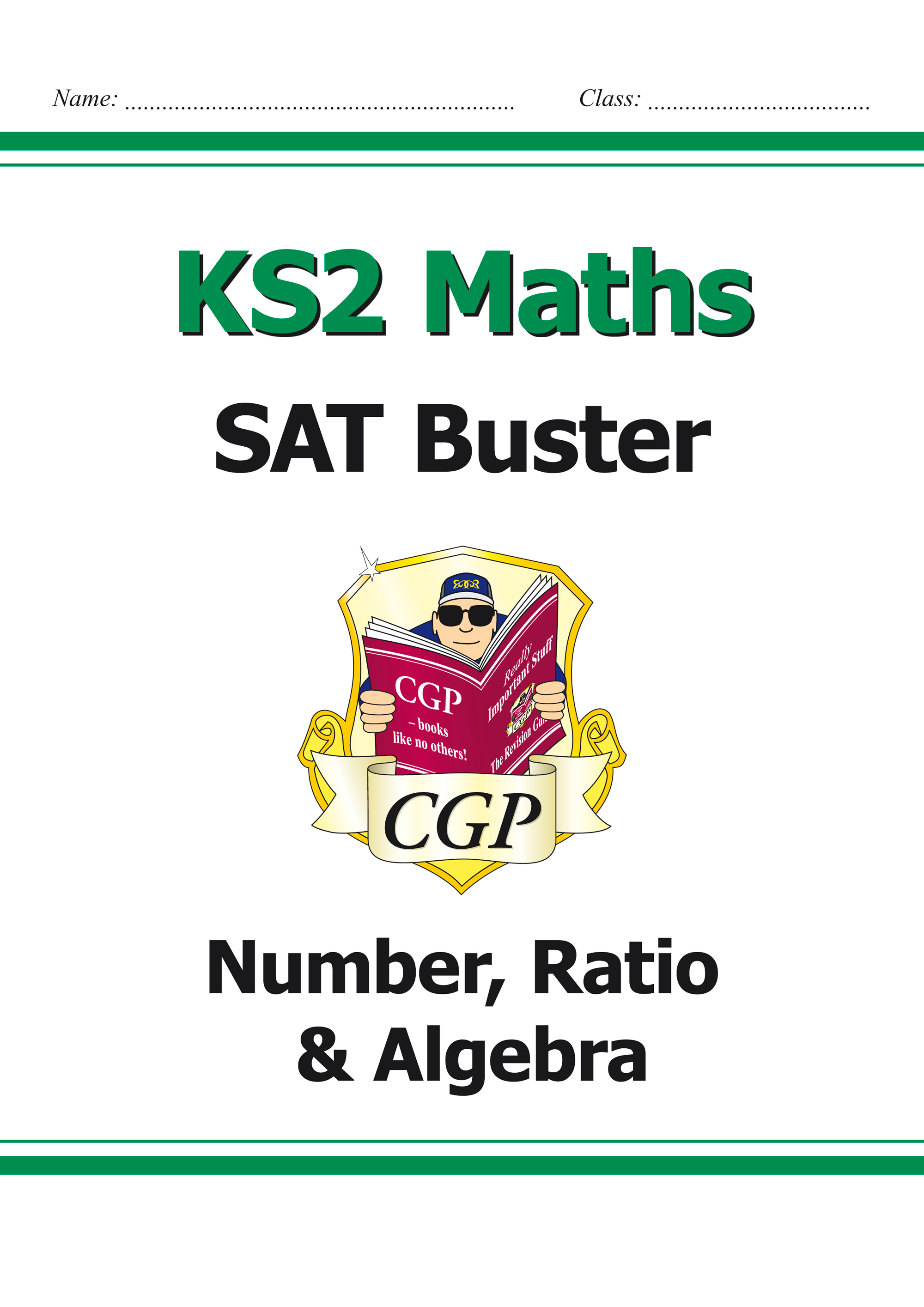 M6N23 - KS2 Maths SAT Buster: Number, Ratio & Algebra Book 1 (for tests in 2019)