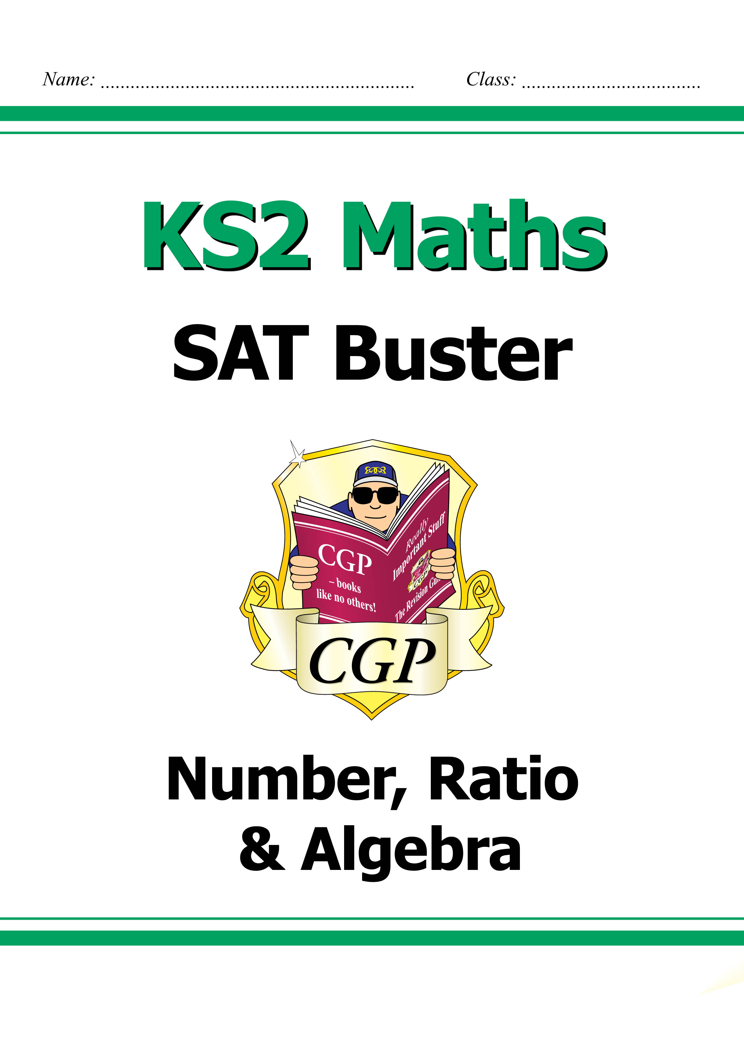 M6N23DK - KS2 Maths SAT Buster: Number, Ratio & Algebra (for tests in 2018 and beyond)