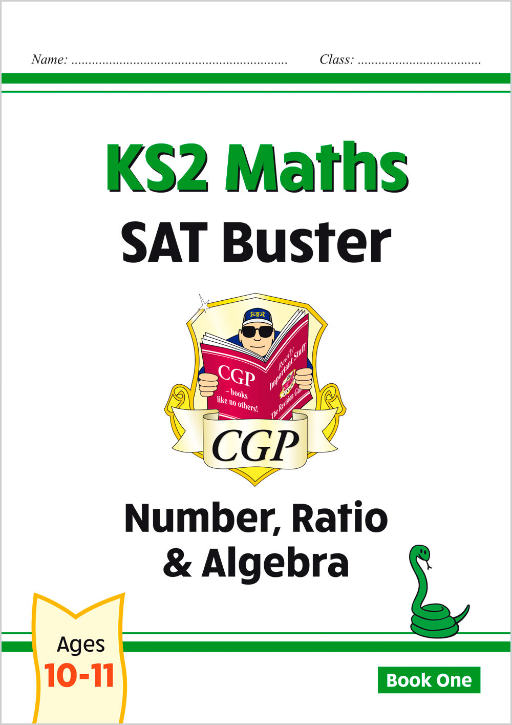M6N24 - New KS2 Maths SAT Buster: Number, Ratio & Algebra - Book 1 (for the 2021 tests)