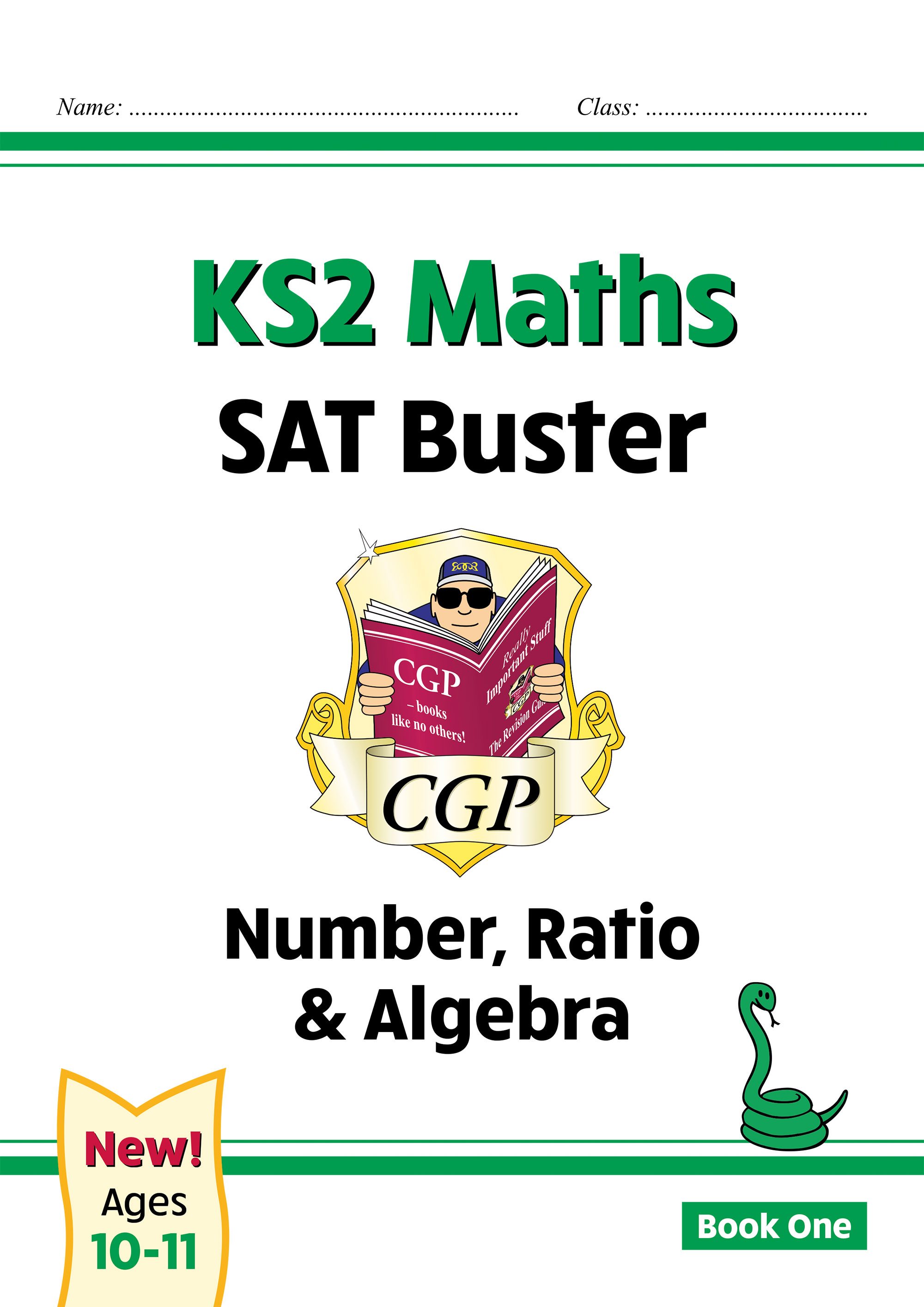 M6N24DK - New KS2 Maths SAT Buster: Number, Ratio & Algebra - Book 1 (for the 2021 tests)