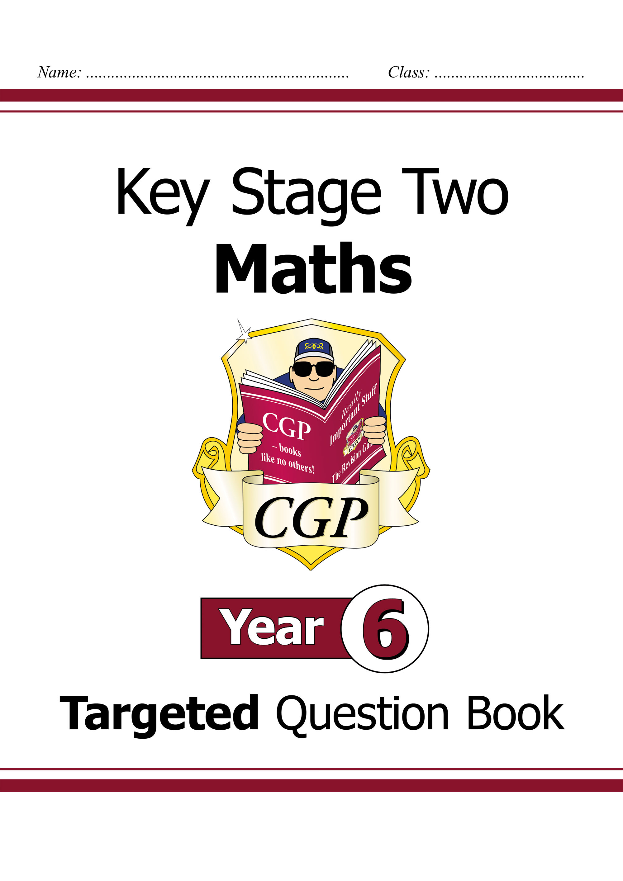 M6Q24DK - KS2 Maths Targeted Question Book - Year 6