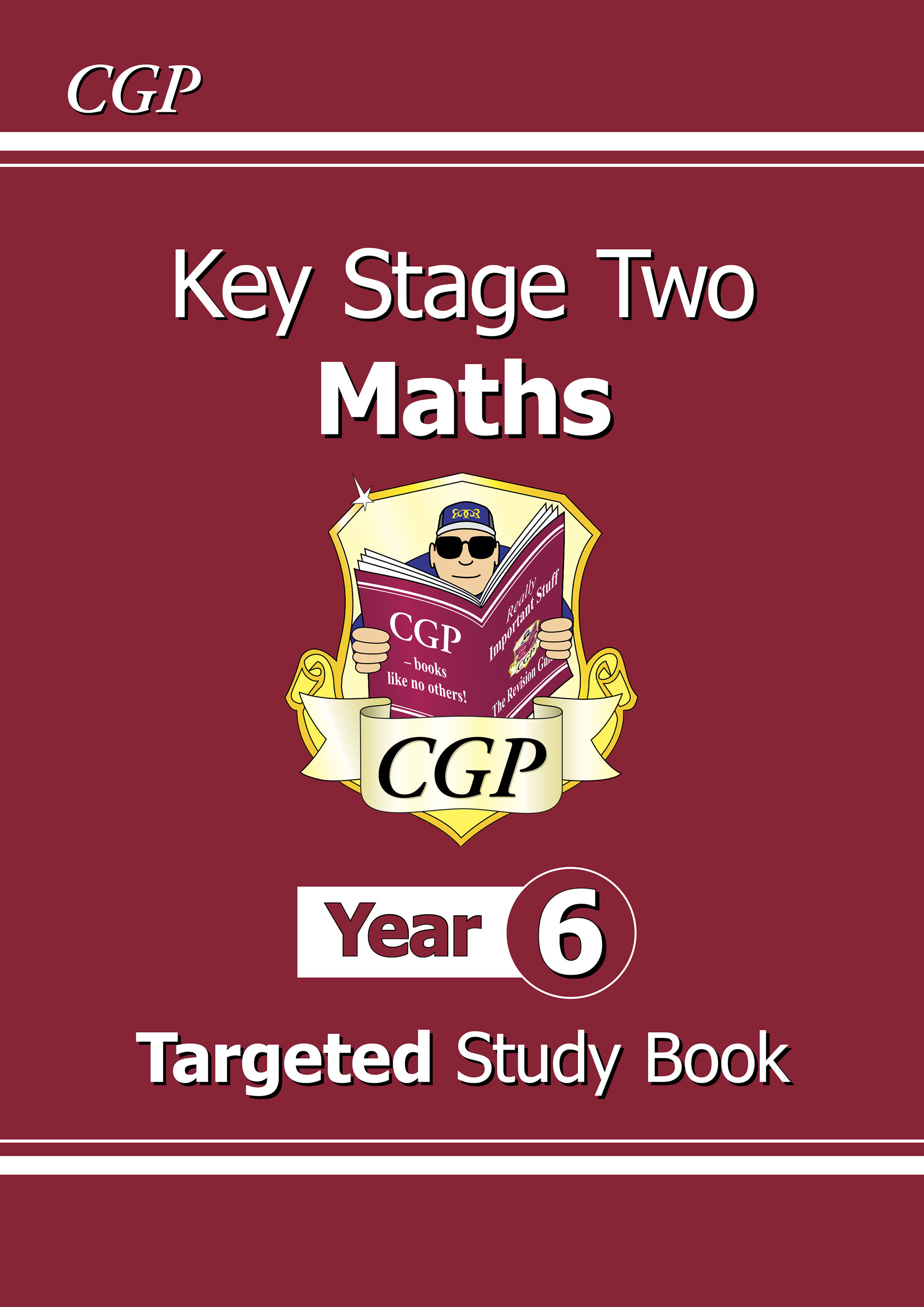 M6R23DK - KS2 Maths Targeted Study Book - Year 6
