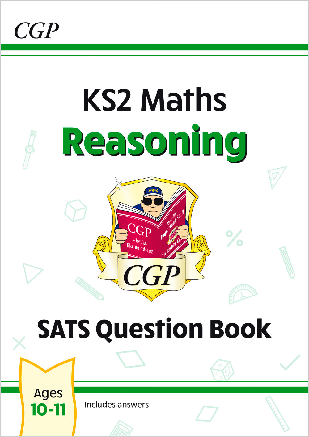 M6RQ21 - New KS2 Maths SATS Question Book: Reasoning - Ages 10-11